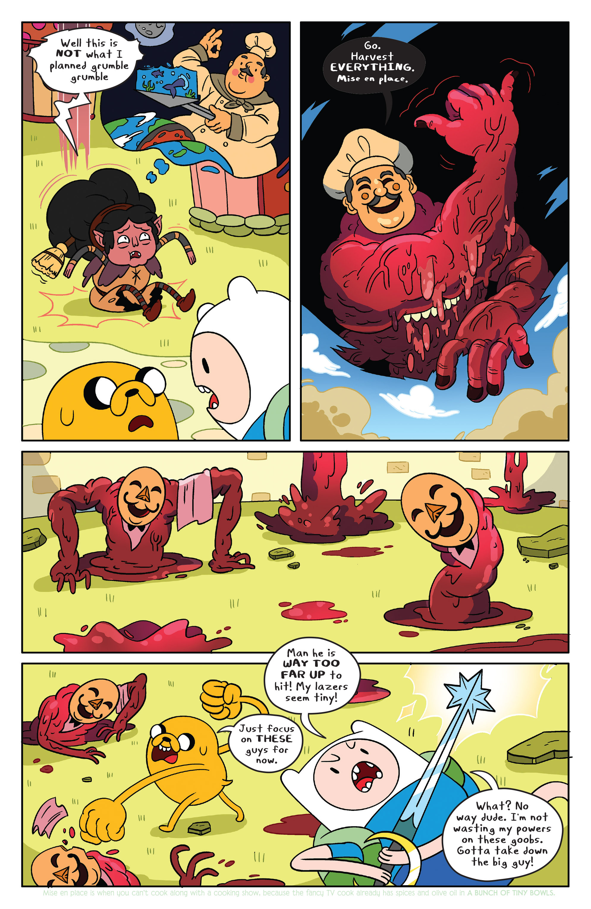 Read online Adventure Time comic -  Issue #39 - 8