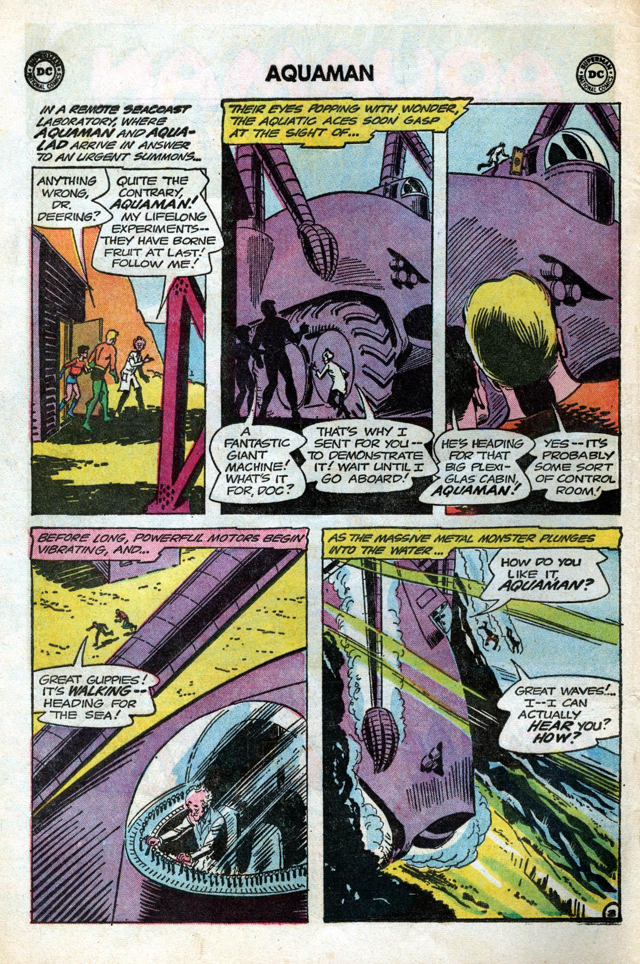 Read online Aquaman (1962) comic -  Issue #15 - 4