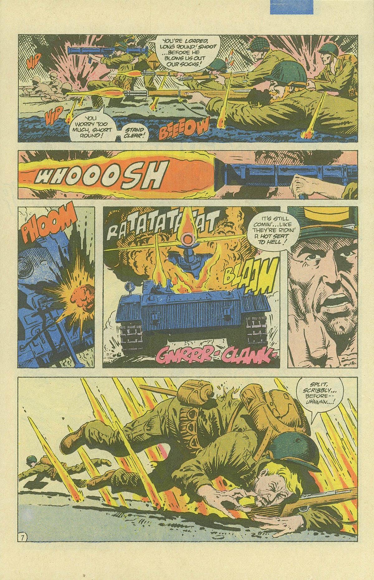 Read online Sgt. Rock comic -  Issue #408 - 10