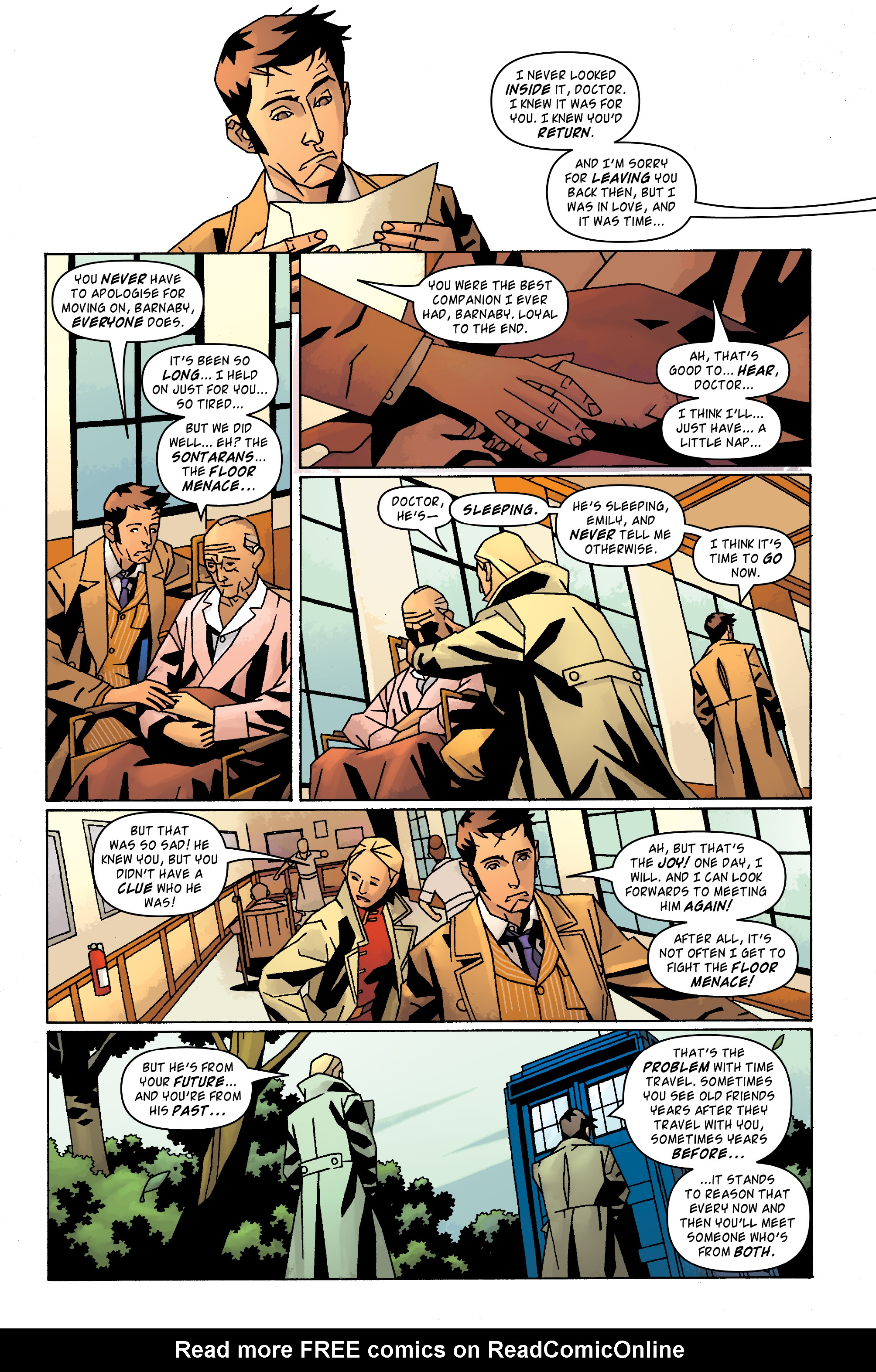 Read online Doctor Who: The Tenth Doctor Archives comic -  Issue #31 - 5