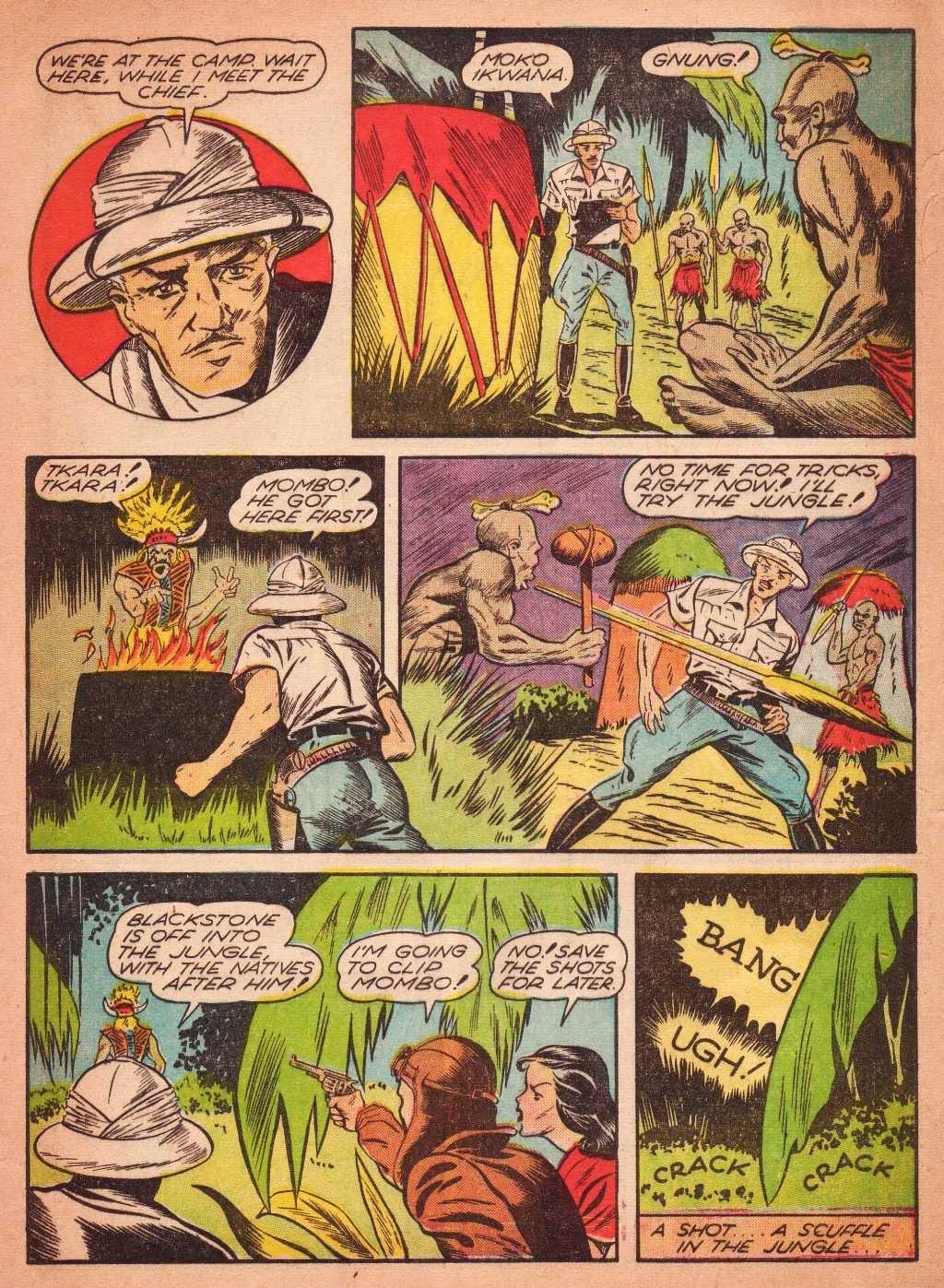 Read online Super-Magician Comics comic -  Issue #2 - 15