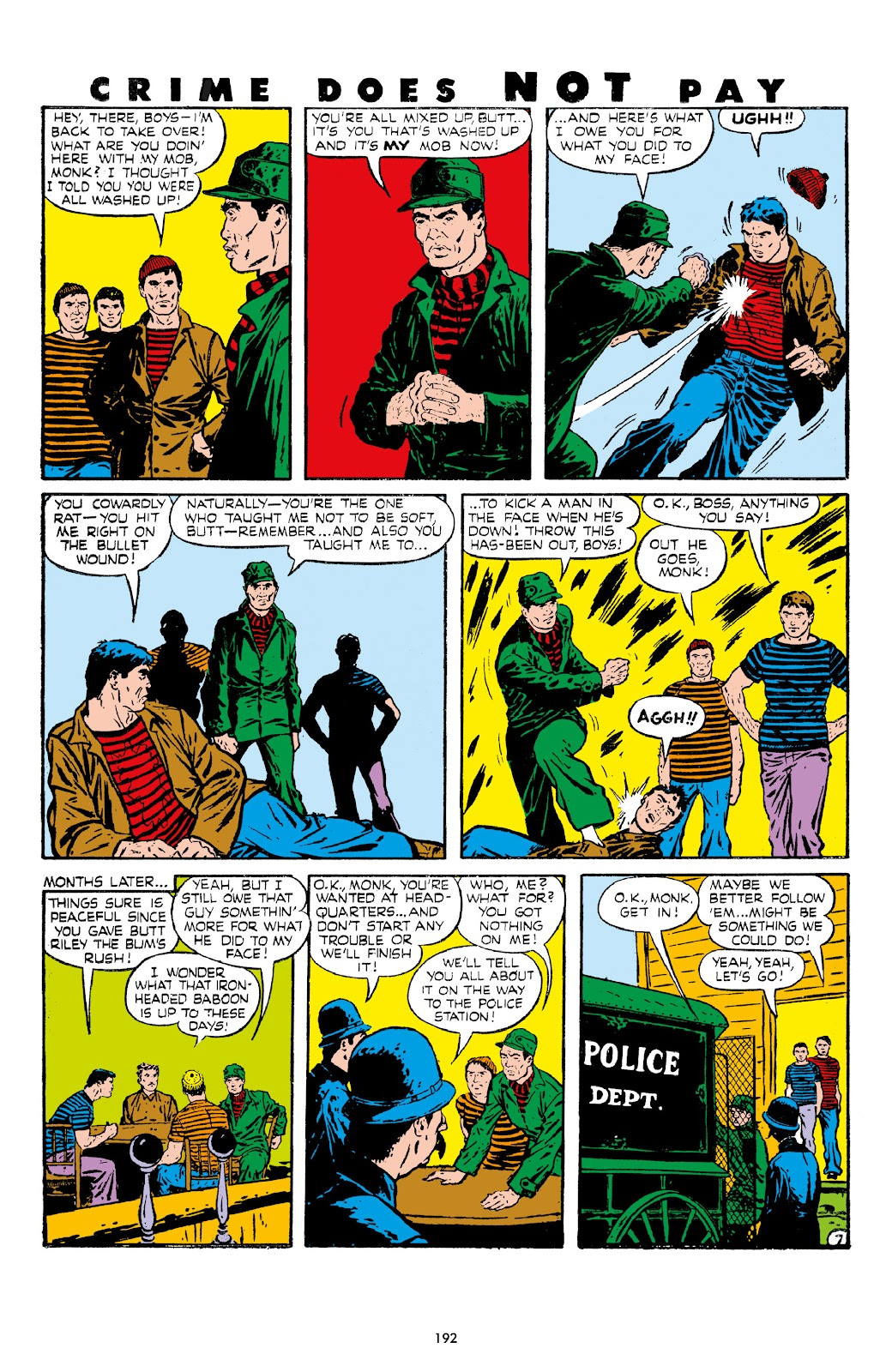 Read online Crime Does Not Pay Archives comic -  Issue # TPB 7 (Part 2) - 93