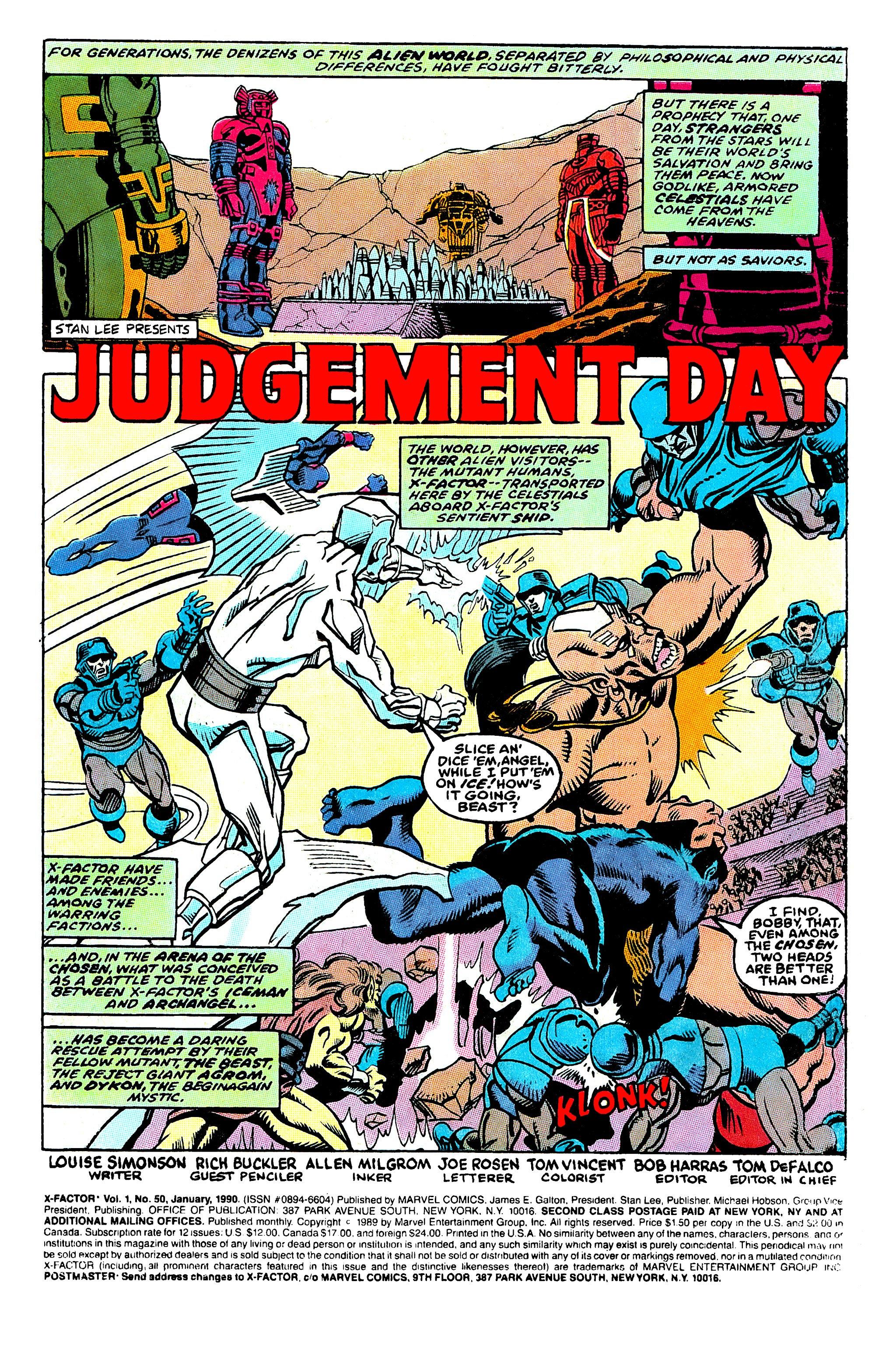 Read online X-Factor (1986) comic -  Issue #50 - 2