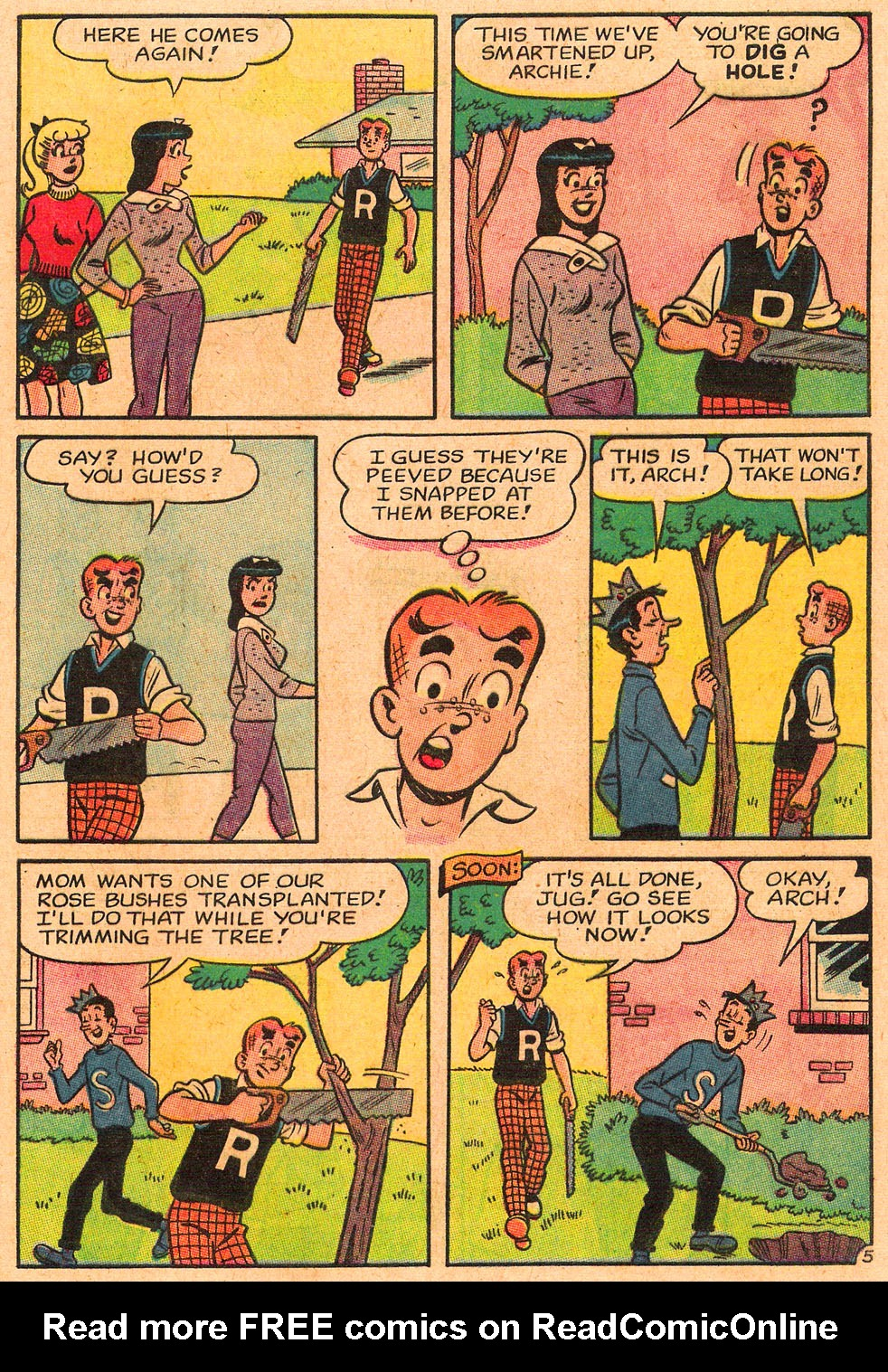 Read online Archie's Girls Betty and Veronica comic -  Issue #85 - 17