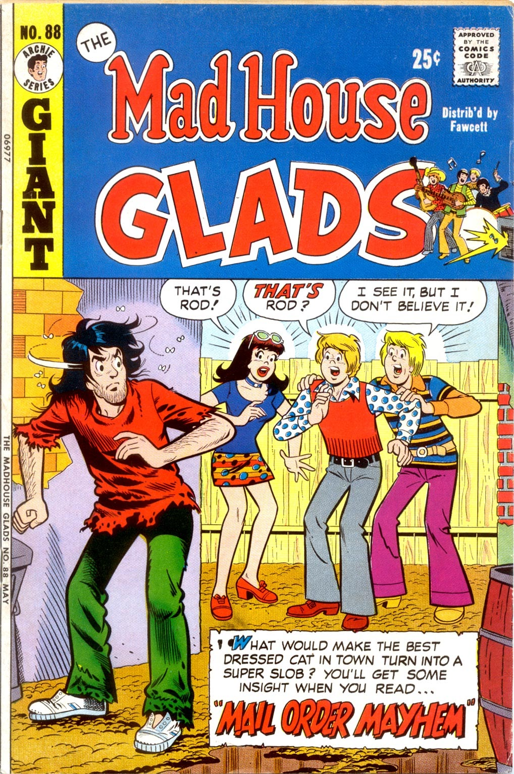 Read online The Mad House Glads comic -  Issue #88 - 1
