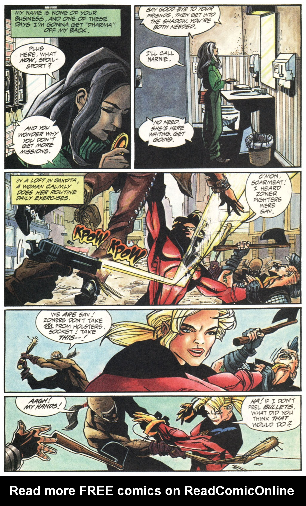 Read online Shadow Cabinet comic -  Issue #1 - 7