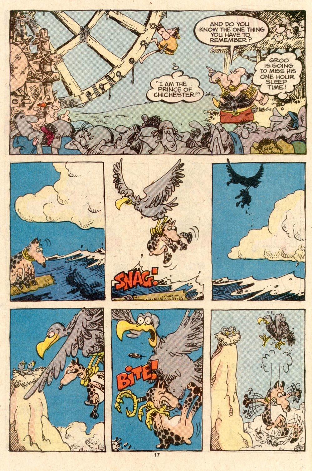 Read online Sergio Aragonés Groo the Wanderer comic -  Issue #45 - 17
