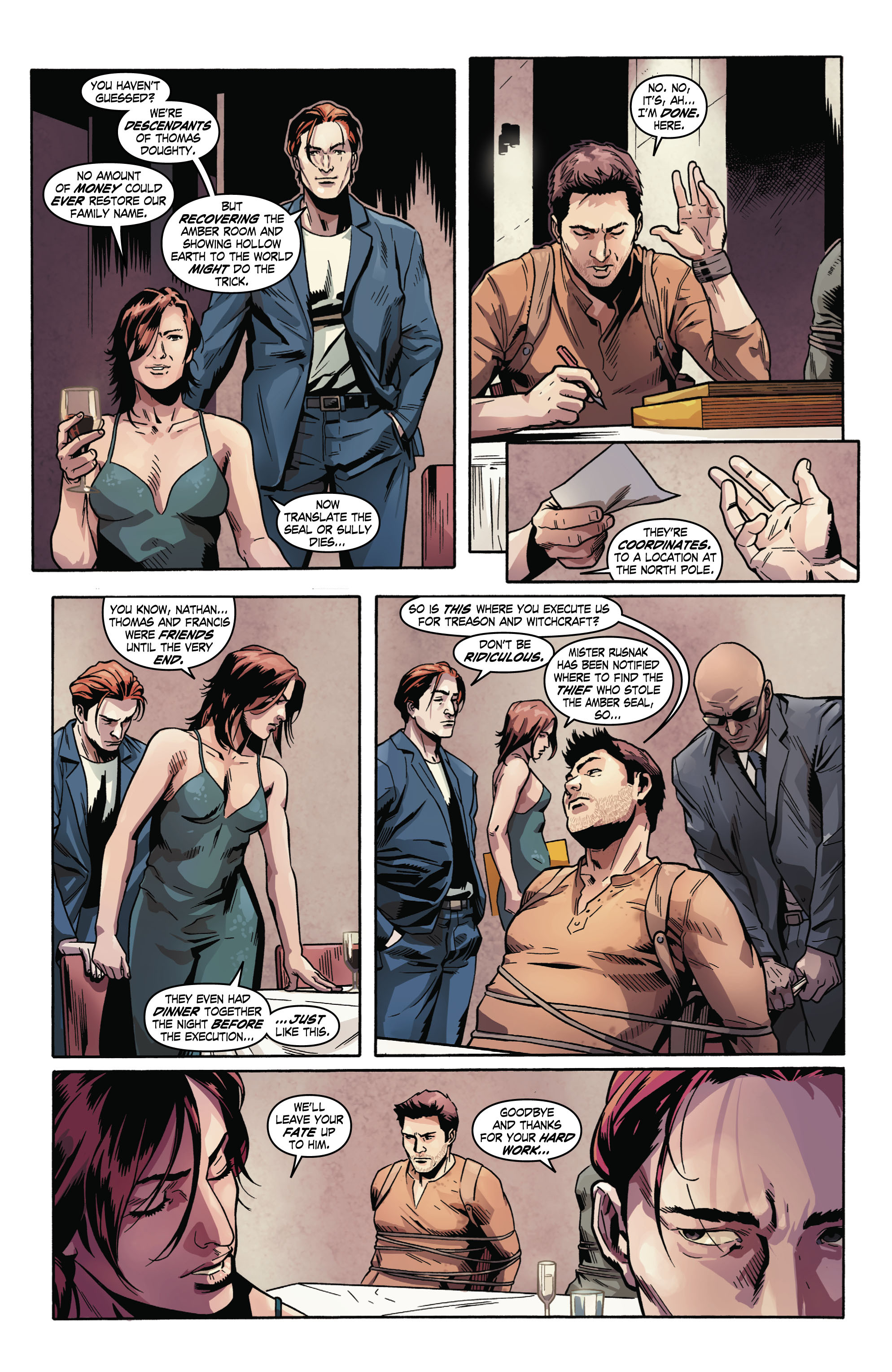 Read online Uncharted comic -  Issue #2 - 19