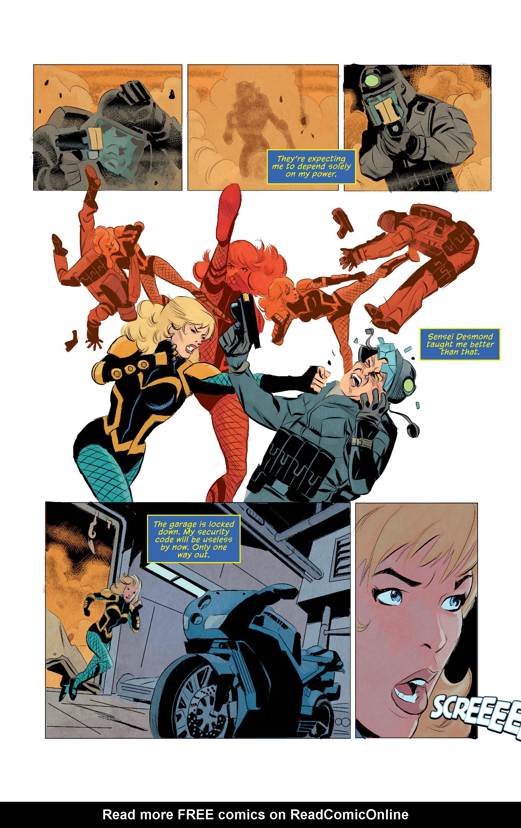 Read online Secret Origins (2014) comic -  Issue #11 - 36
