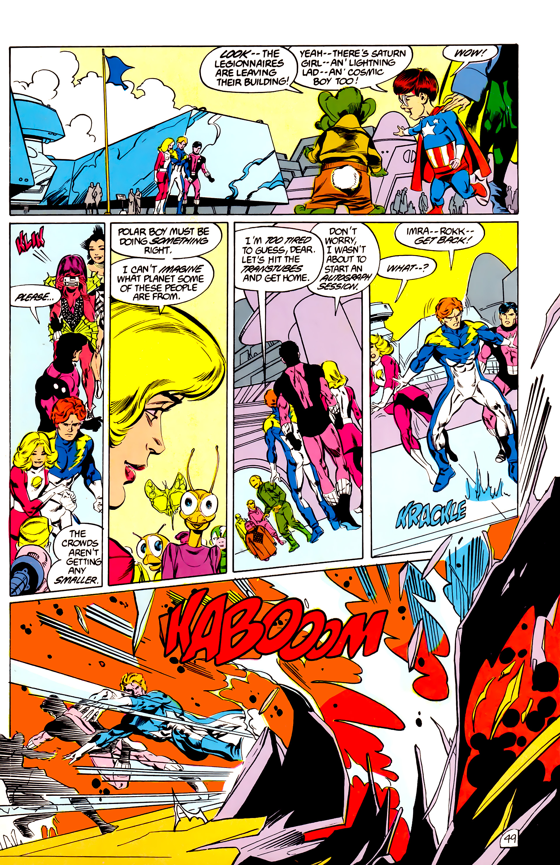 Legion of Super-Heroes (1984) 45 Page 48