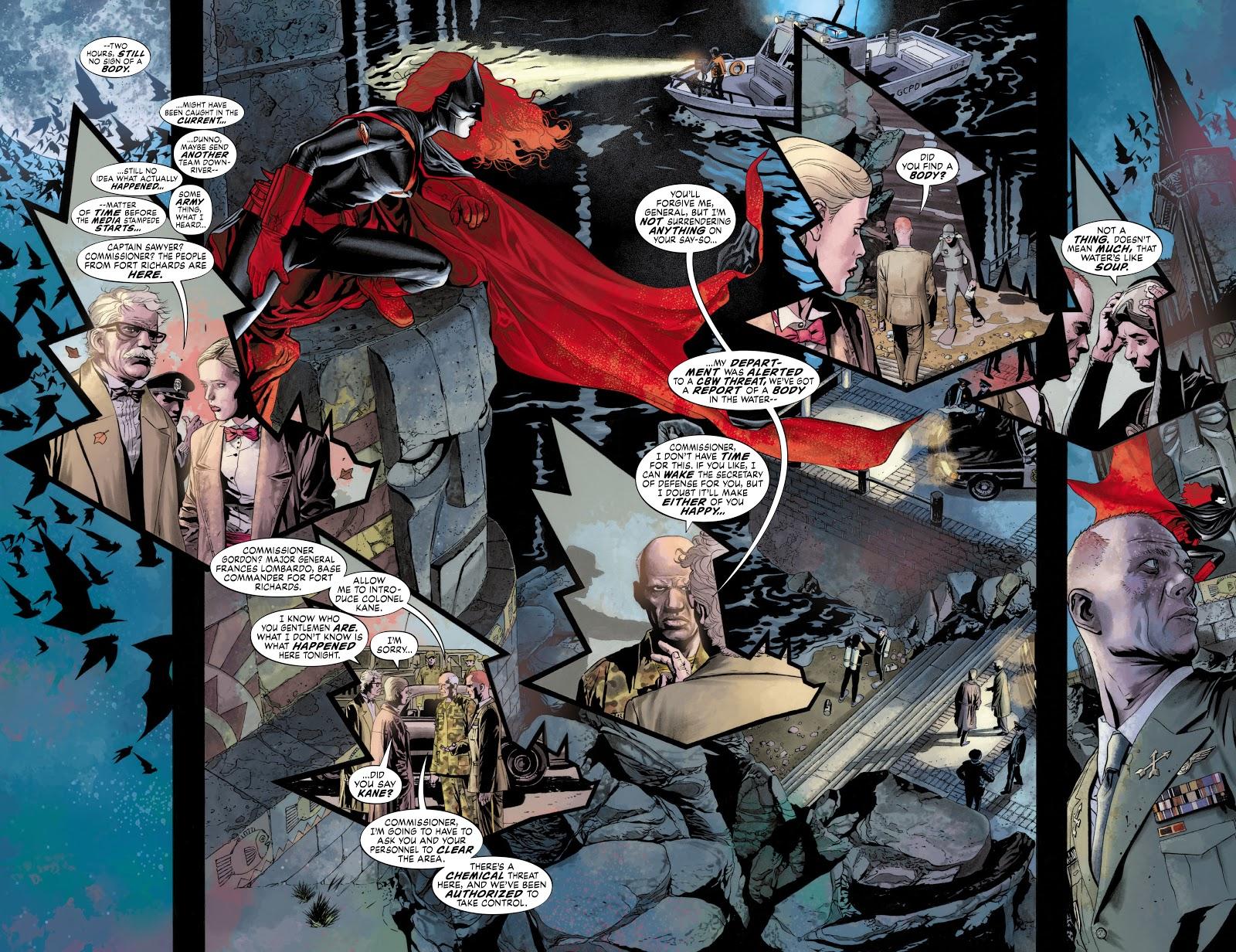 Read online Detective Comics (1937) comic -  Issue # _TPB Batwoman - Elegy (Part 1) - 91