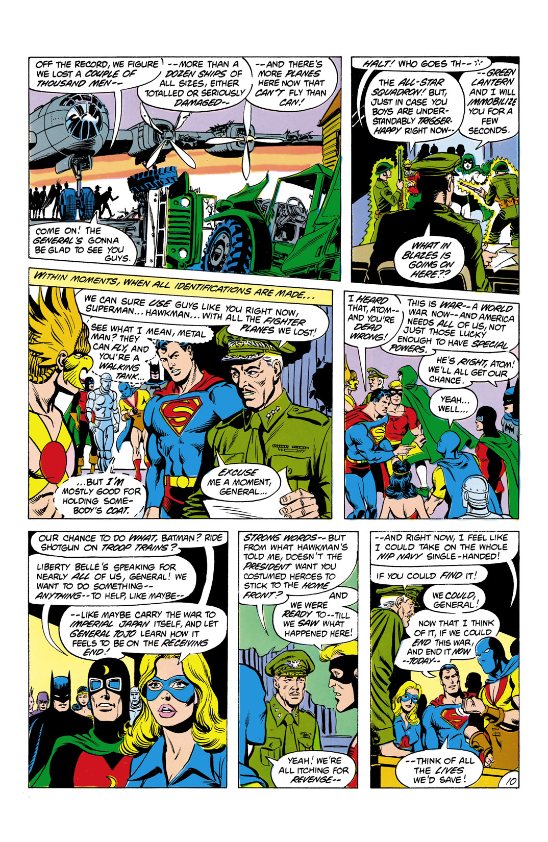 Read online All-Star Squadron comic -  Issue #4 - 11