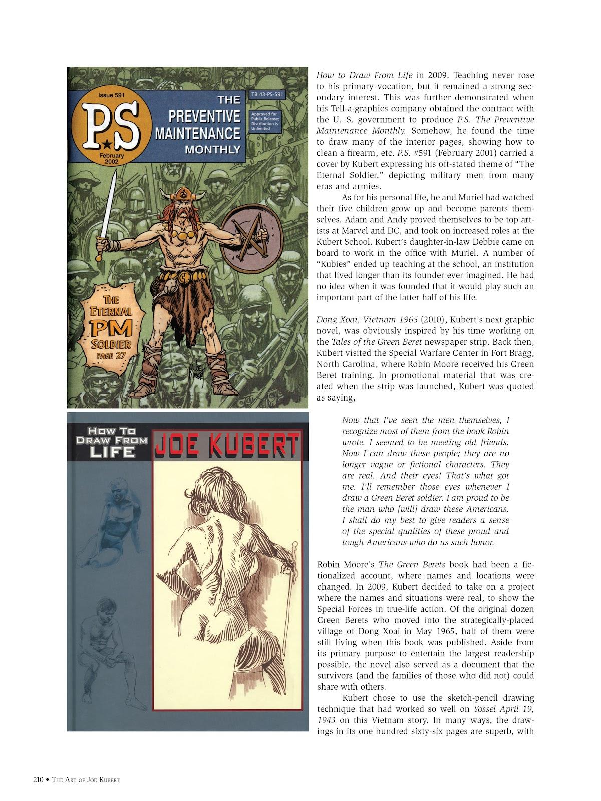 Read online The Art of Joe Kubert comic -  Issue # TPB (Part 3) - 10