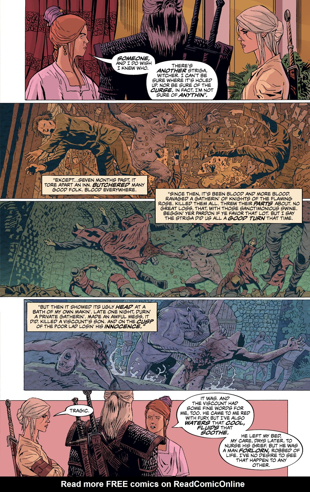 Read online The Witcher Omnibus comic -  Issue # TPB (Part 4) - 38