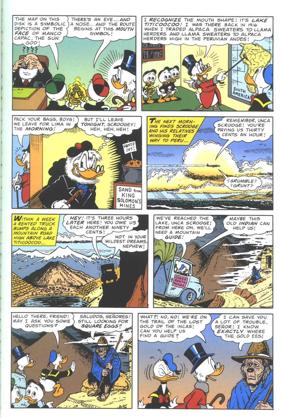 Read online Uncle Scrooge (1953) comic -  Issue #335 - 7