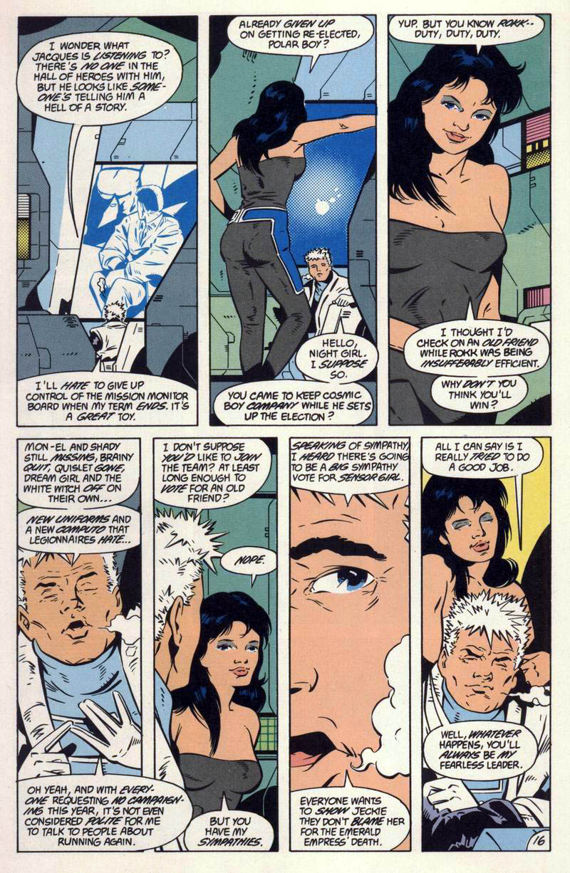 Legion of Super-Heroes (1984) 59 Page 16