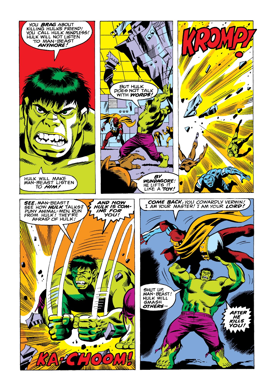 Read online Marvel Masterworks: The Incredible Hulk comic -  Issue # TPB 10 (Part 2) - 62