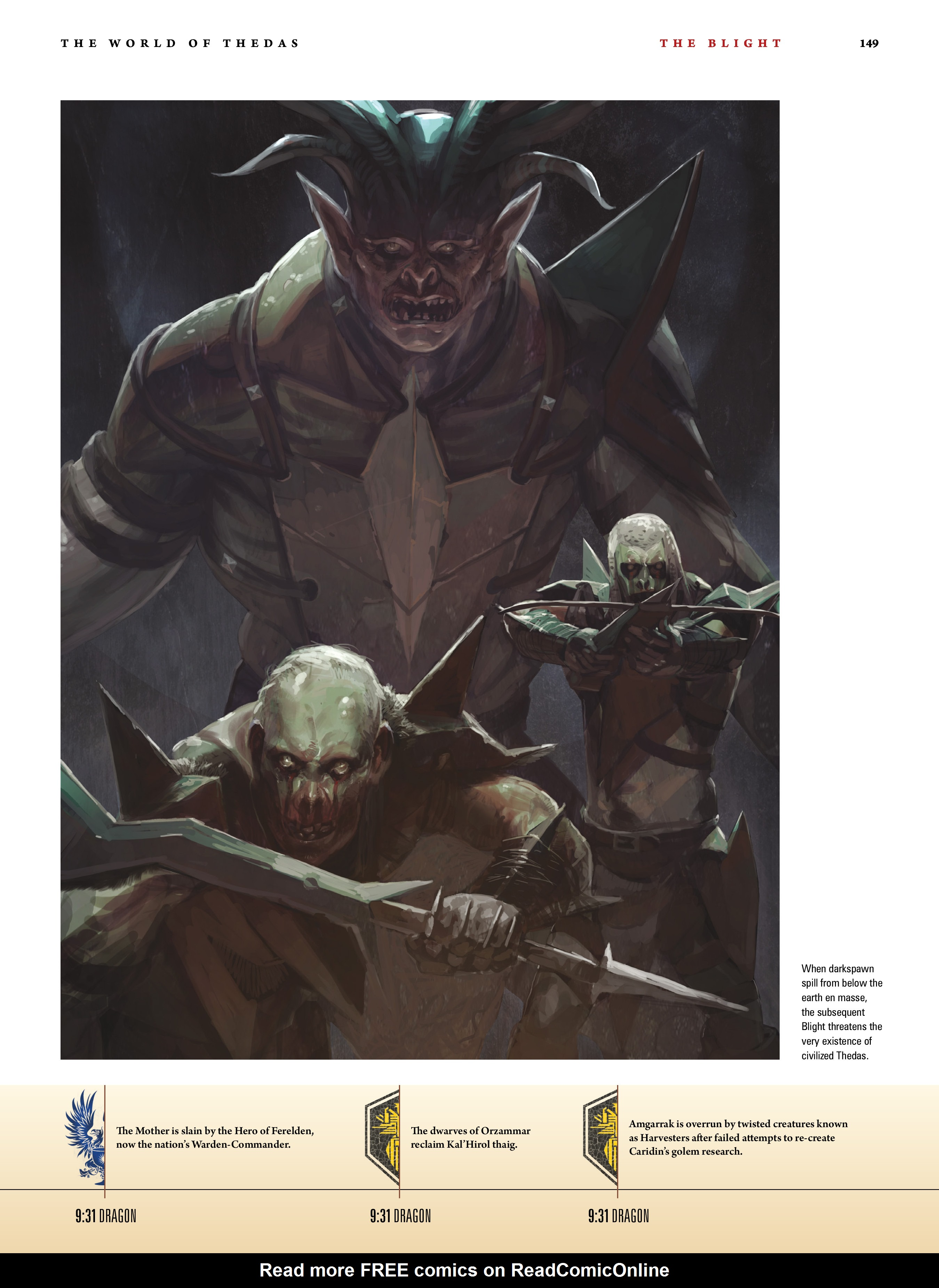 Read online Dragon Age: The World of Thedas comic -  Issue # TPB 1 - 122