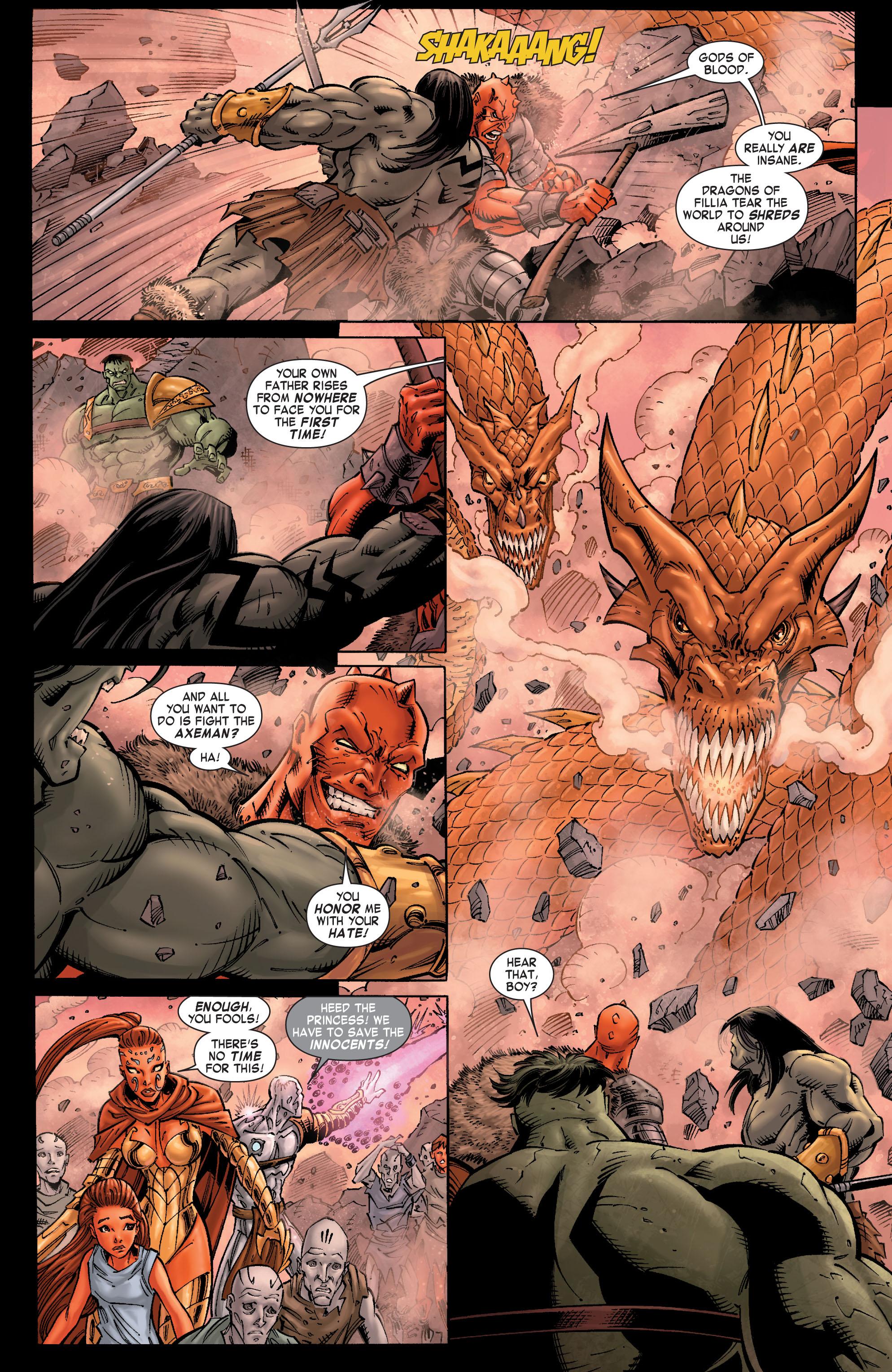 Read online Skaar: Son of Hulk comic -  Issue #9 - 7