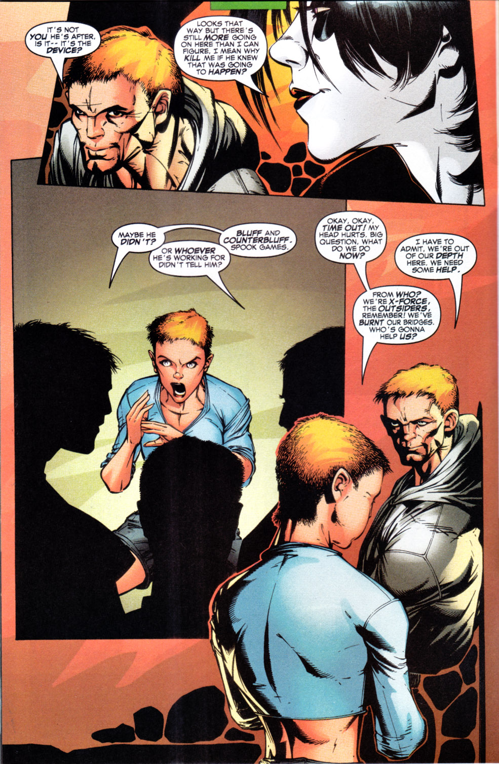 Read online X-Force (1991) comic -  Issue #108 - 7