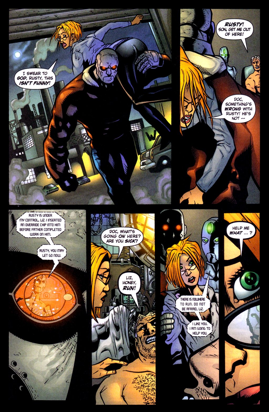 Read online Noble Causes (2002) comic -  Issue #4 - 4