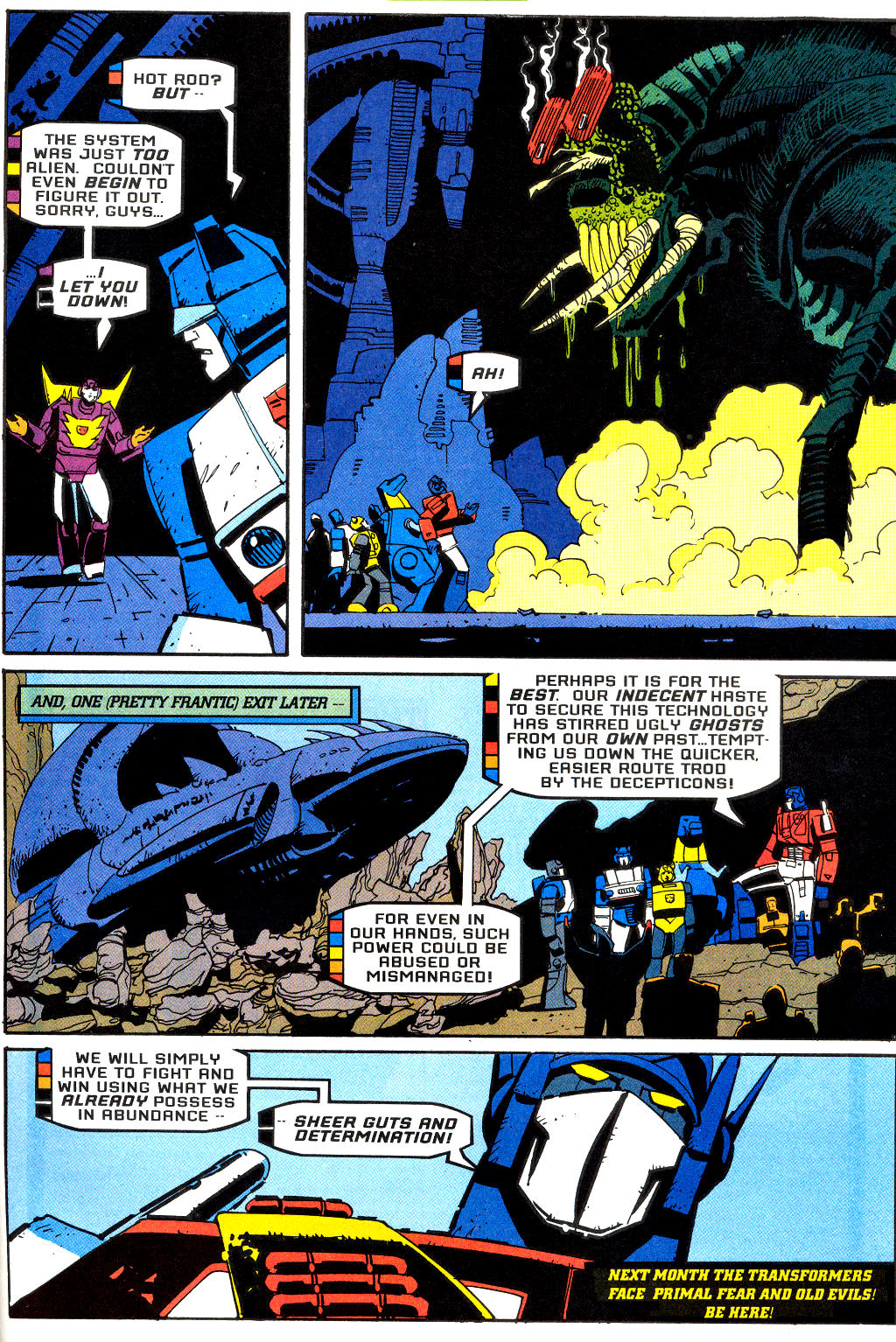Read online Transformers: Generation 2 comic -  Issue #2 - 24