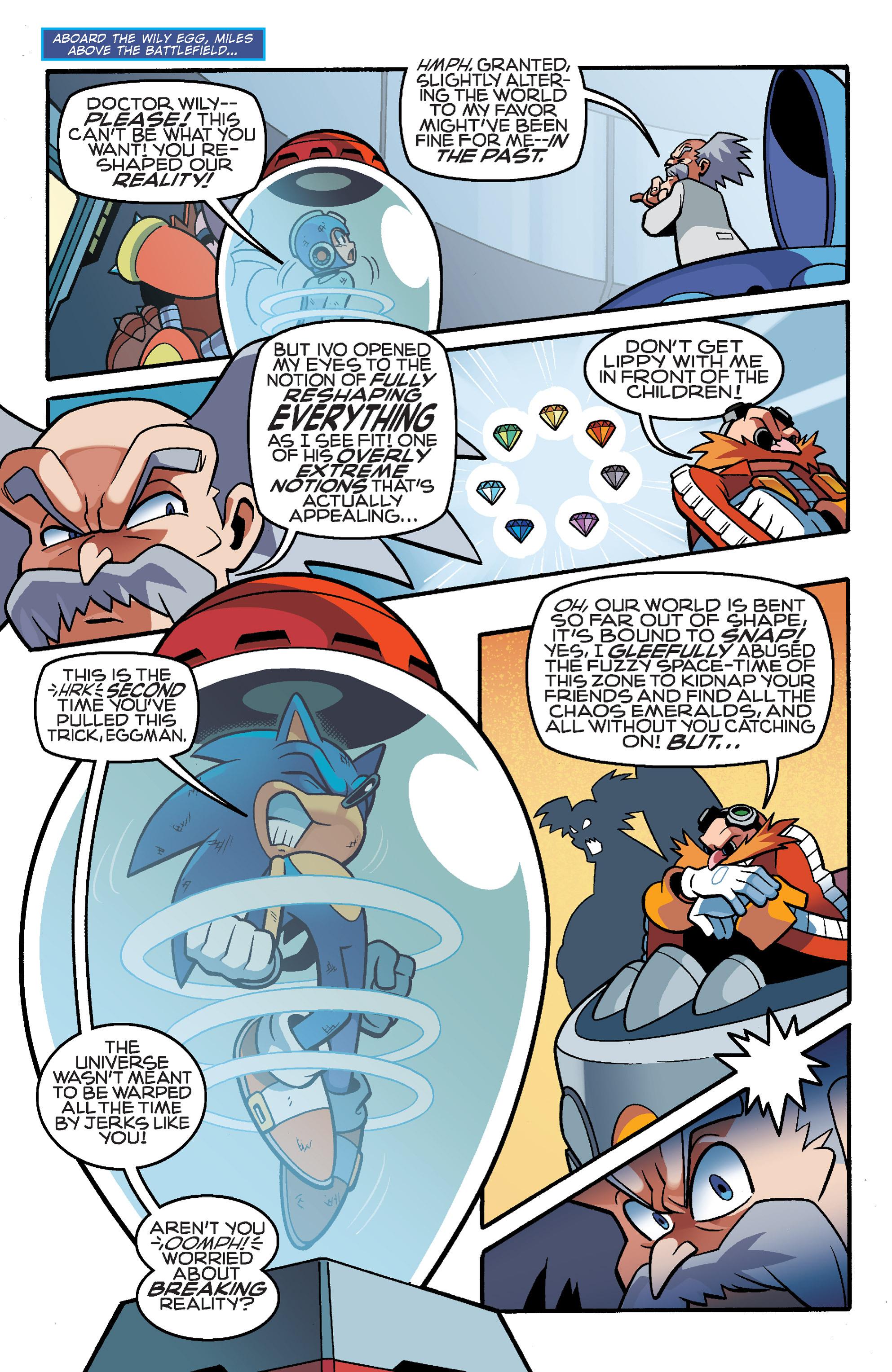 Read online Sonic Mega Man Worlds Collide comic -  Issue # Vol 3 - 100