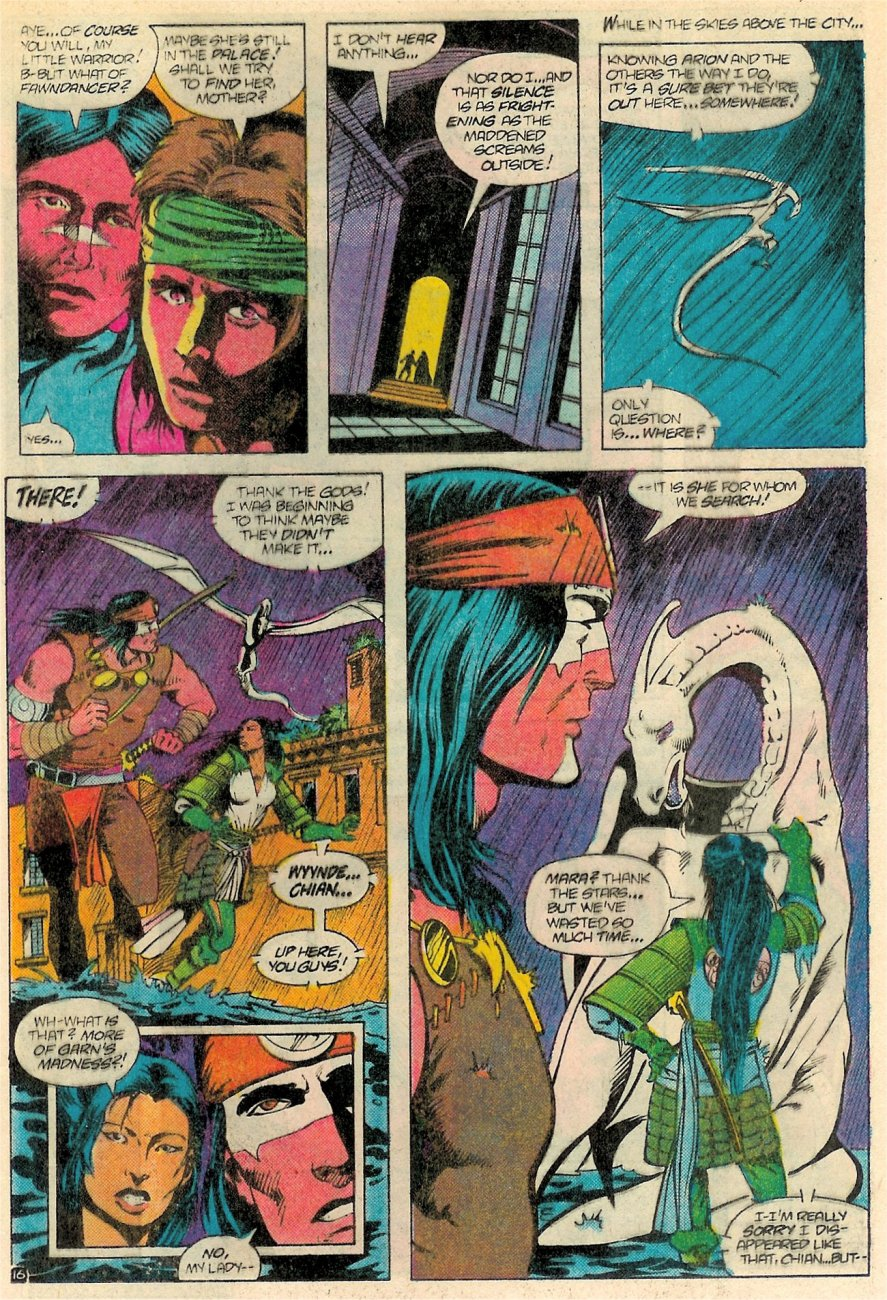 Read online Arion, Lord of Atlantis comic -  Issue #18 - 17