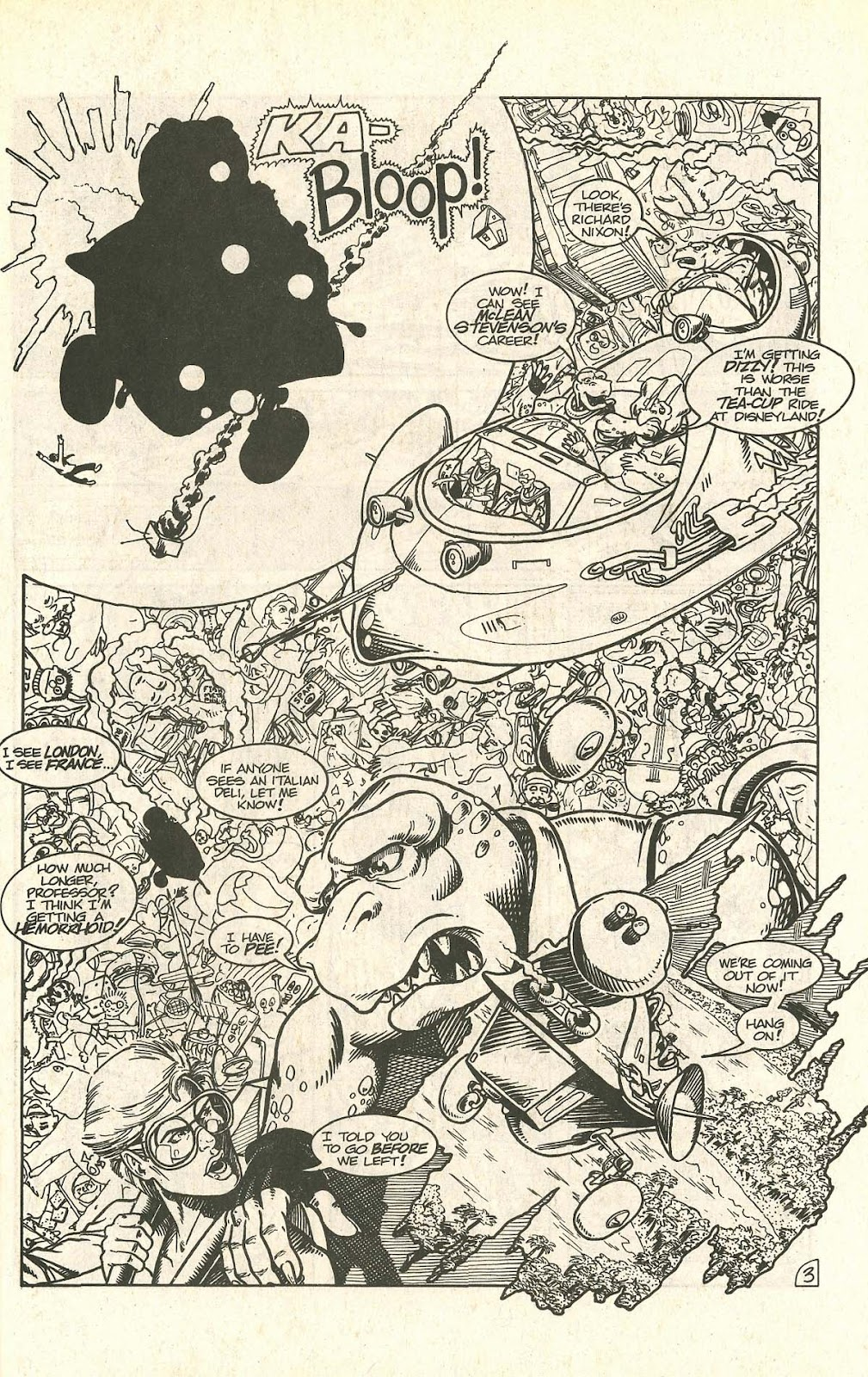 Dinosaurs For Hire (1988) issue 9 - Page 5