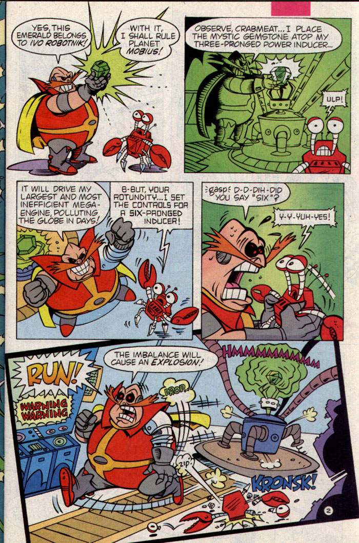 Read online Sonic The Hedgehog Triple Trouble Special comic -  Issue # Full - 4