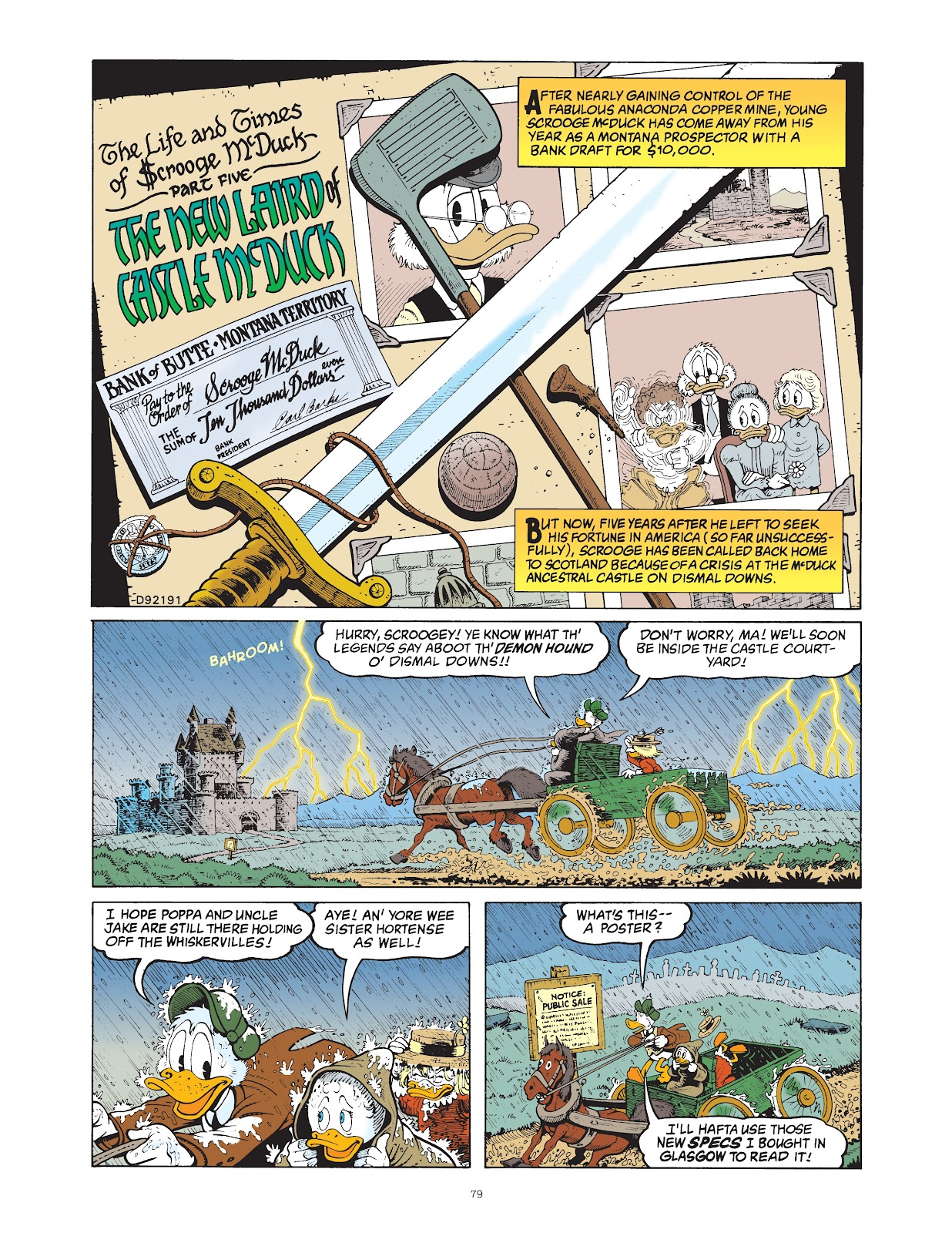 Read online The Complete Life and Times of Scrooge McDuck comic -  Issue # TPB 1 (Part 1) - 82