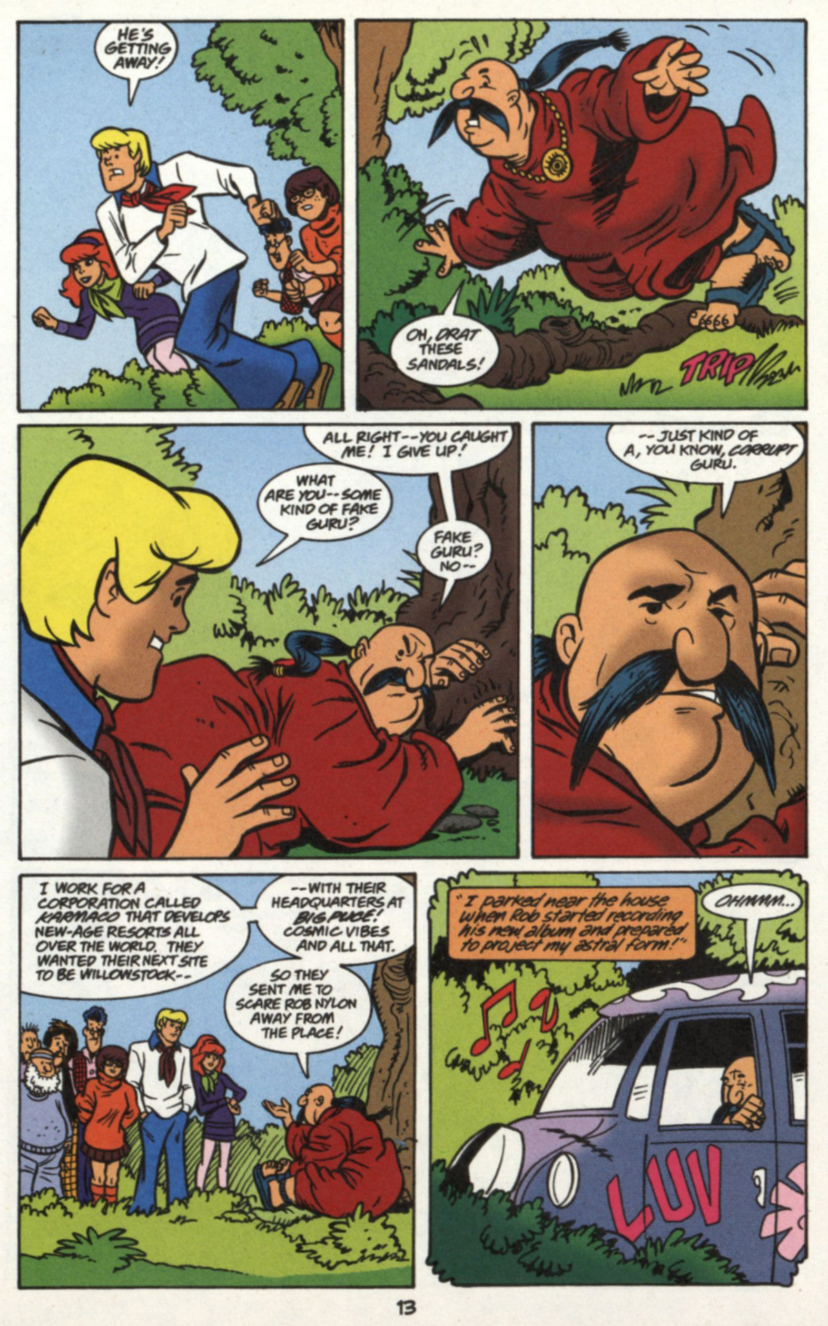 Read online Scooby-Doo (1997) comic -  Issue #16 - 12