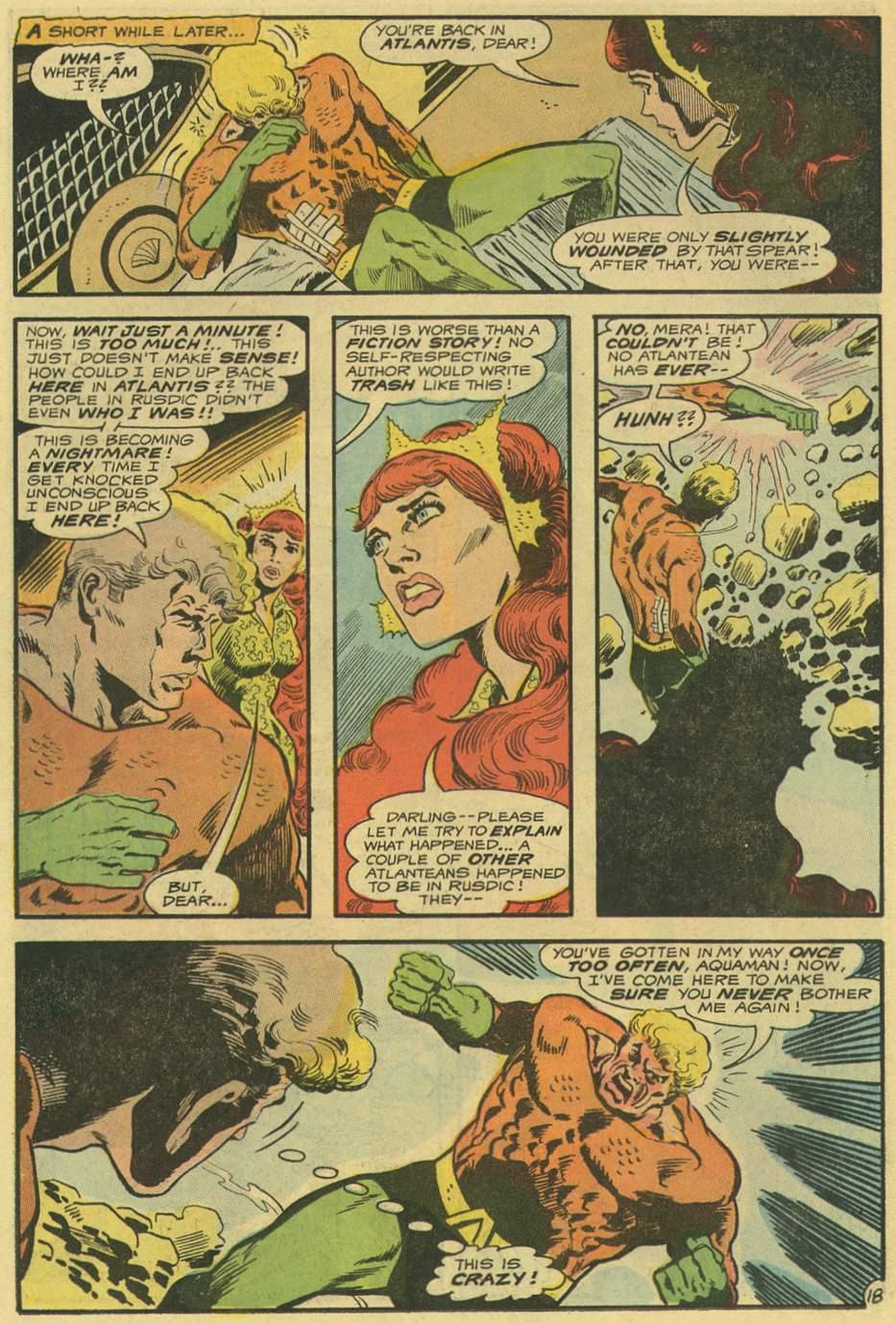 Read online Aquaman (1962) comic -  Issue #54 - 22