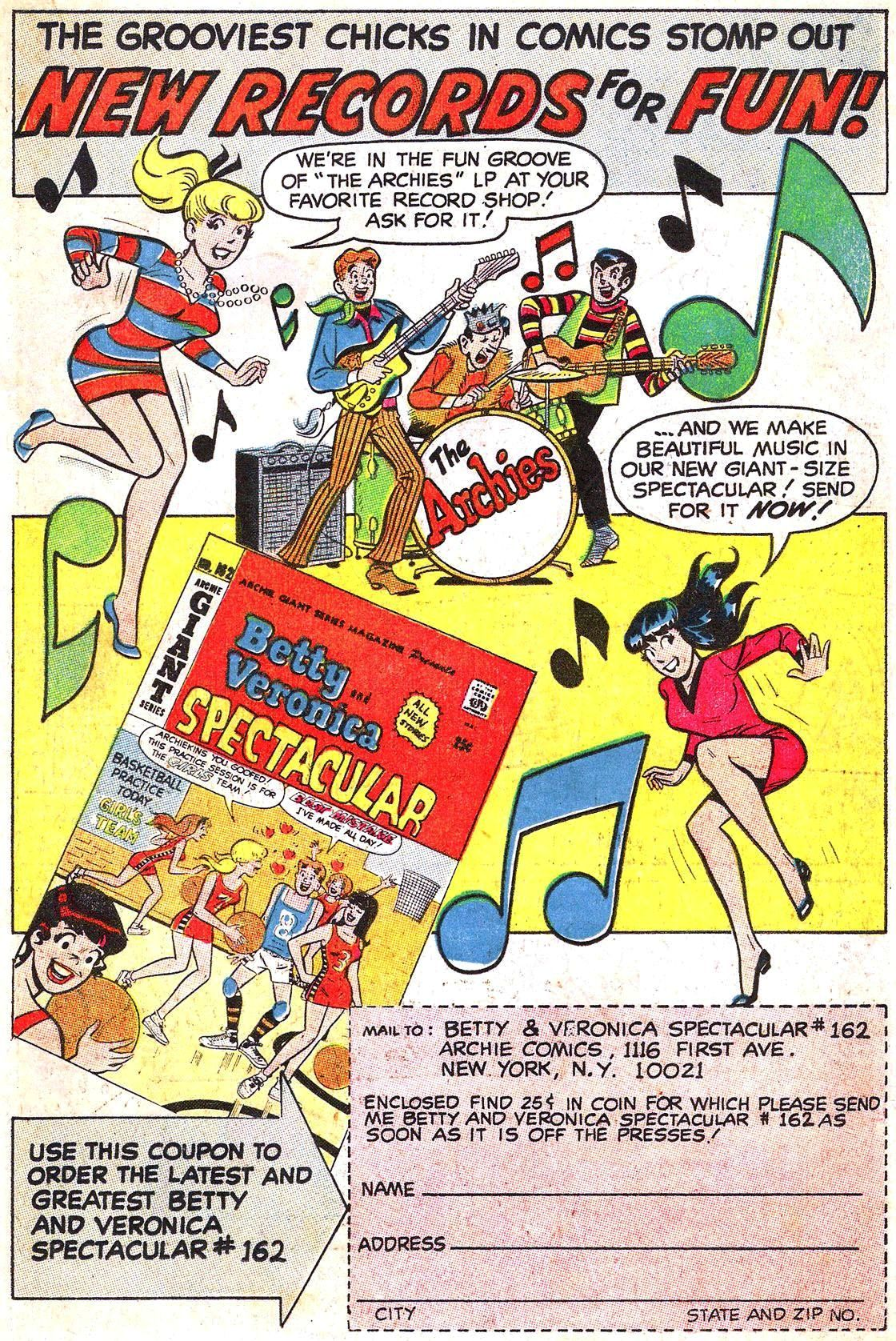 Read online Archie (1960) comic -  Issue #190 - 19
