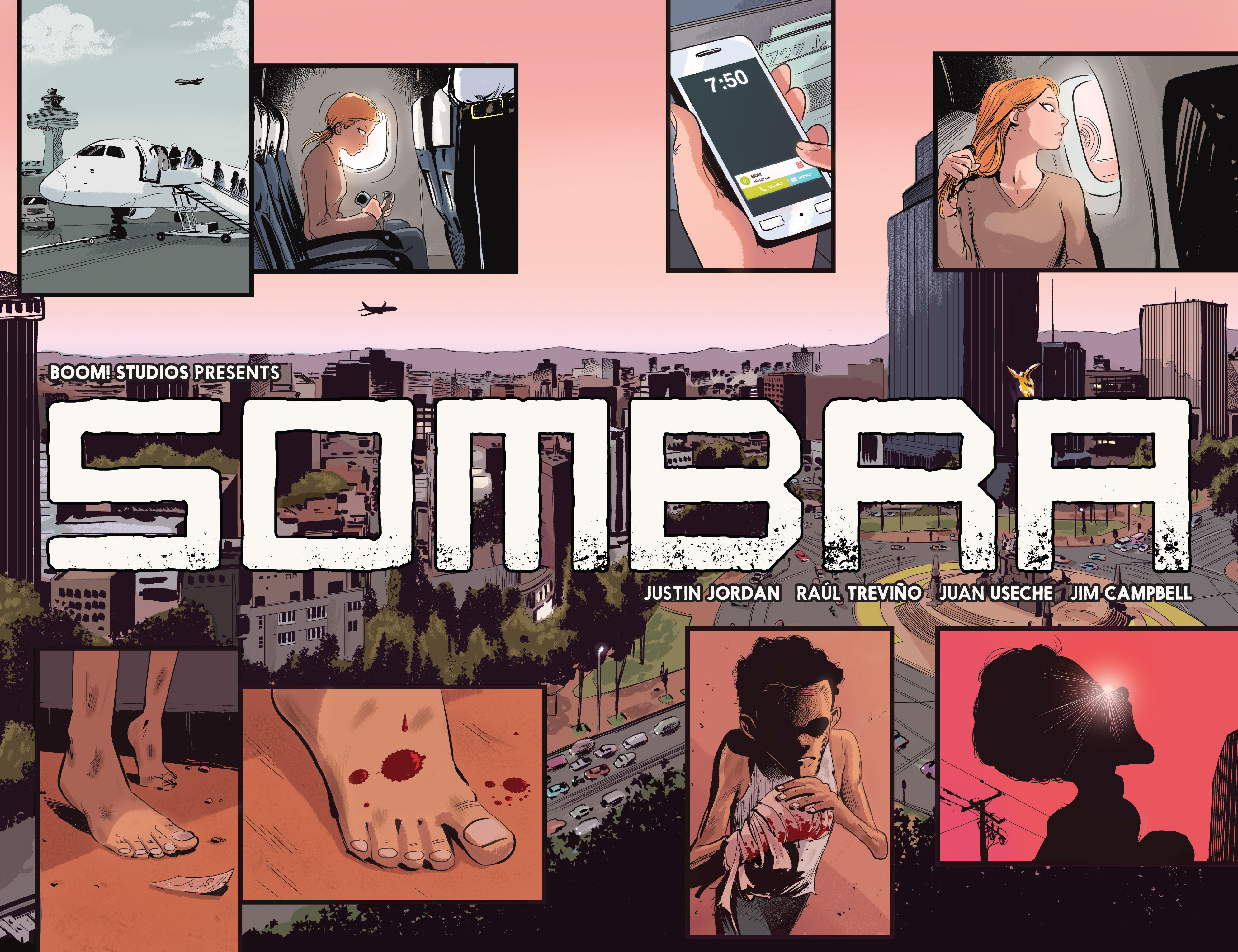 Read online Sombra comic -  Issue #1 - 11