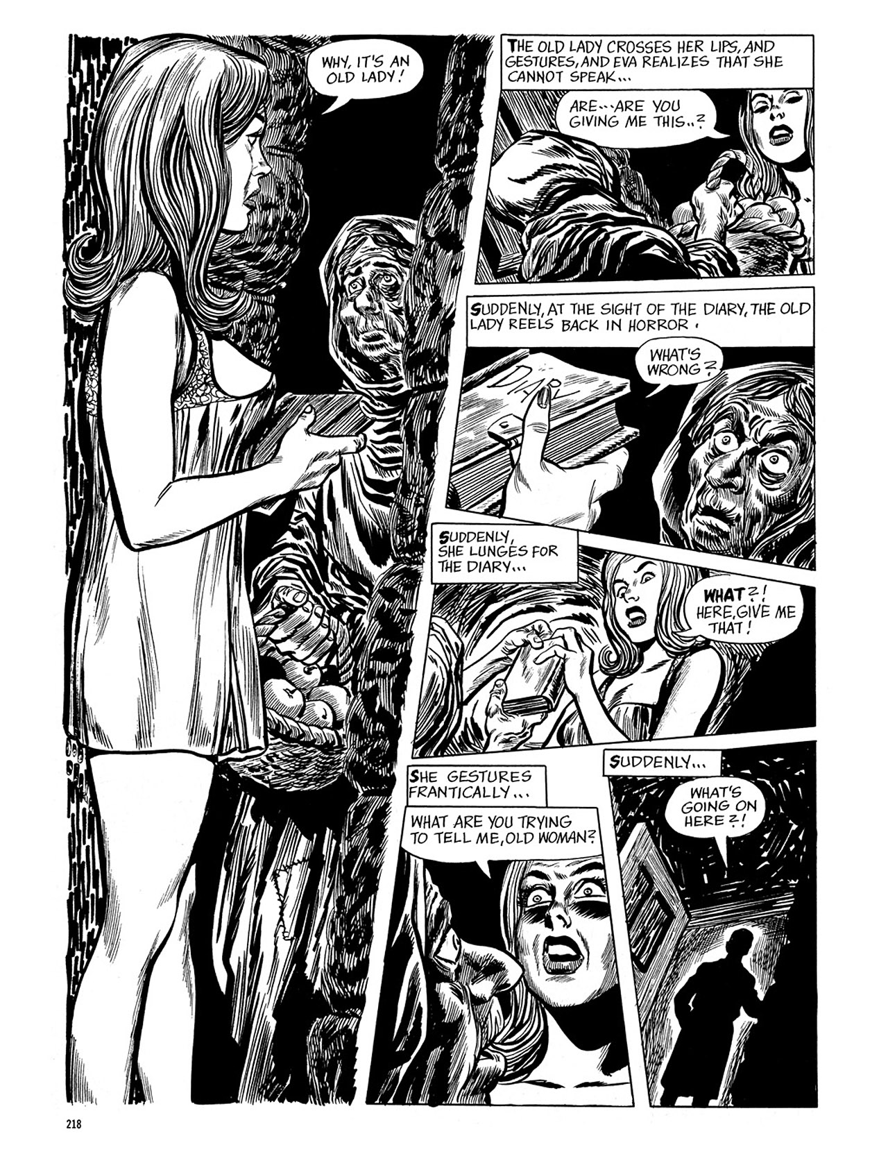 Read online Eerie Archives comic -  Issue # TPB 4 - 218