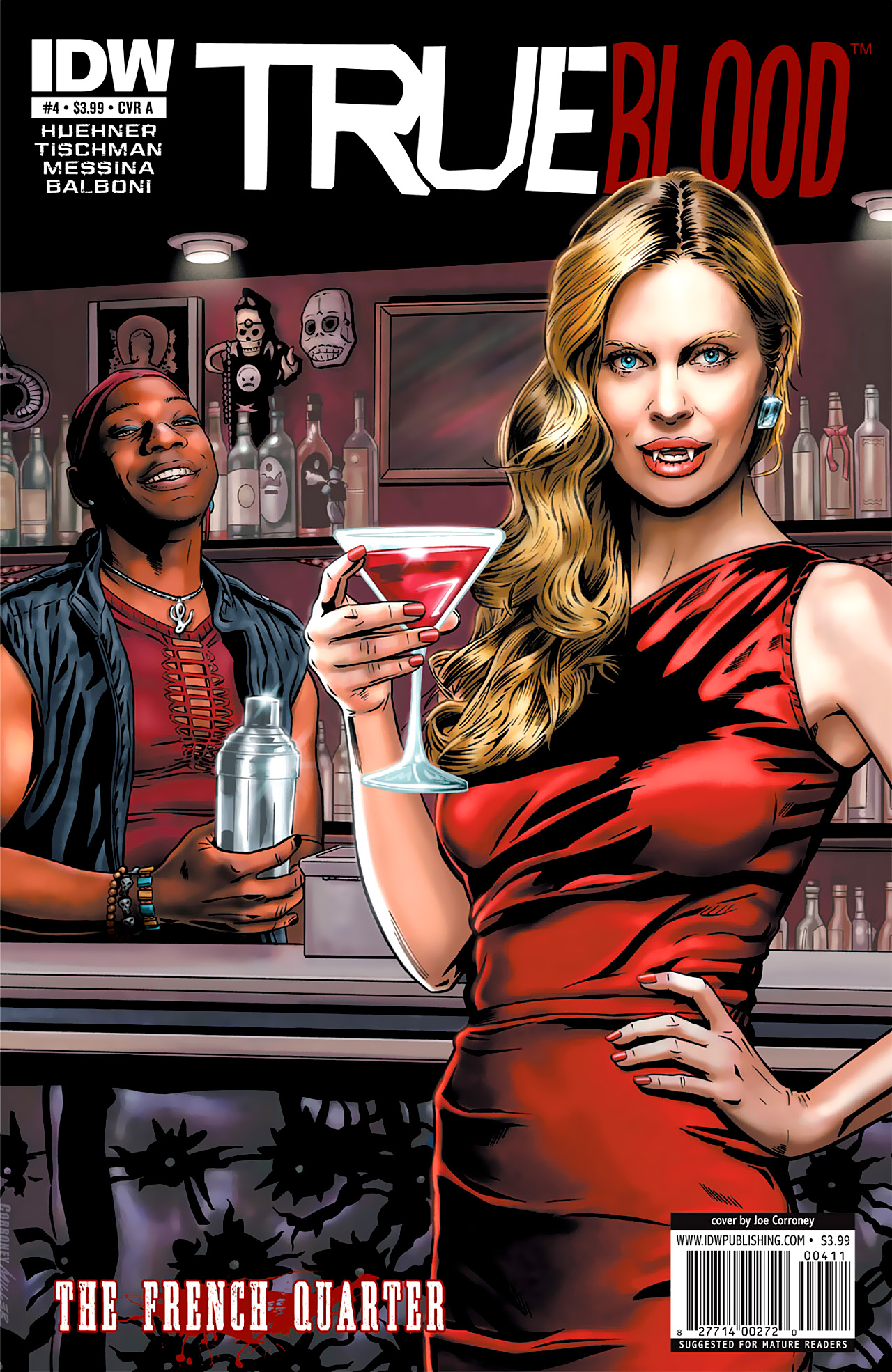 Read online True Blood: French Quarter comic -  Issue #4 - 1