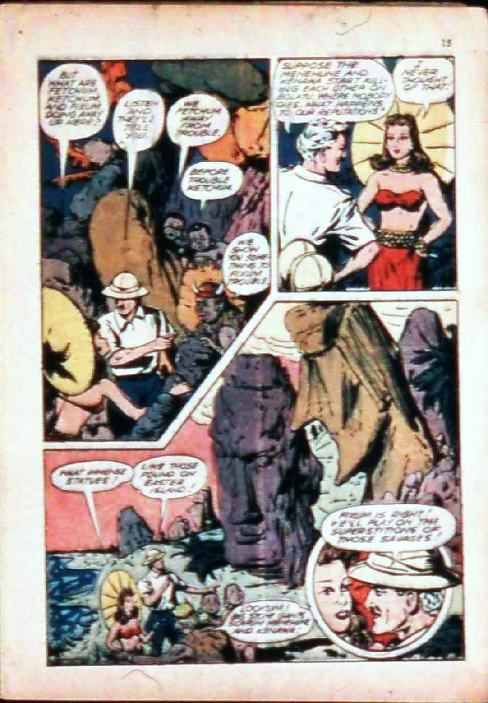 Read online Super-Magician Comics comic -  Issue #17 - 15