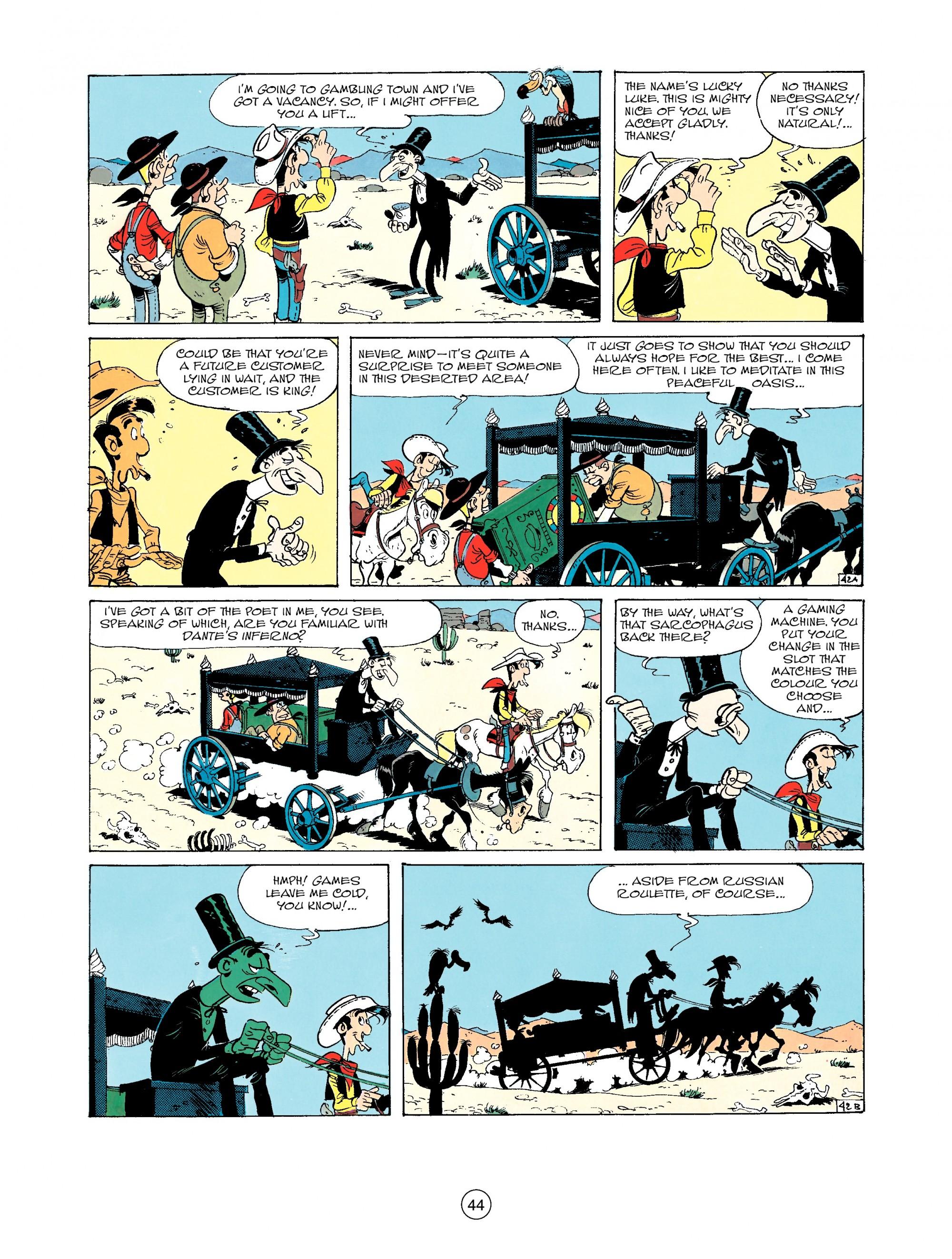 Read online A Lucky Luke Adventure comic -  Issue #33 - 44