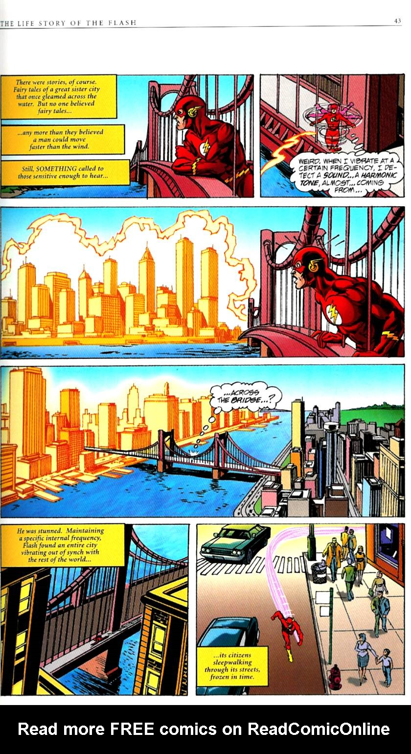 Read online The Life Story of the Flash comic -  Issue # Full - 45