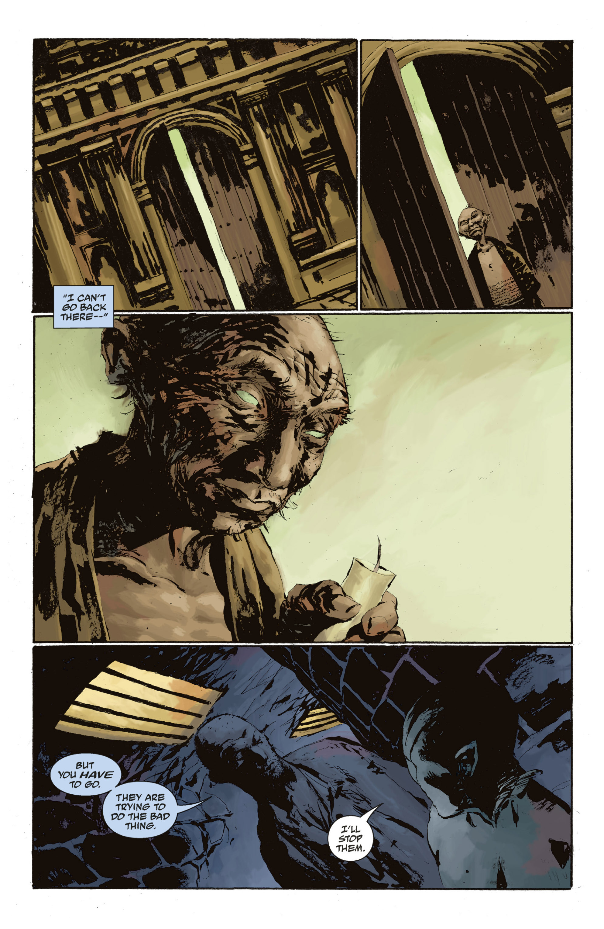 Read online Abe Sapien: The Drowning comic -  Issue #Abe Sapien: The Drowning _TPB - 116