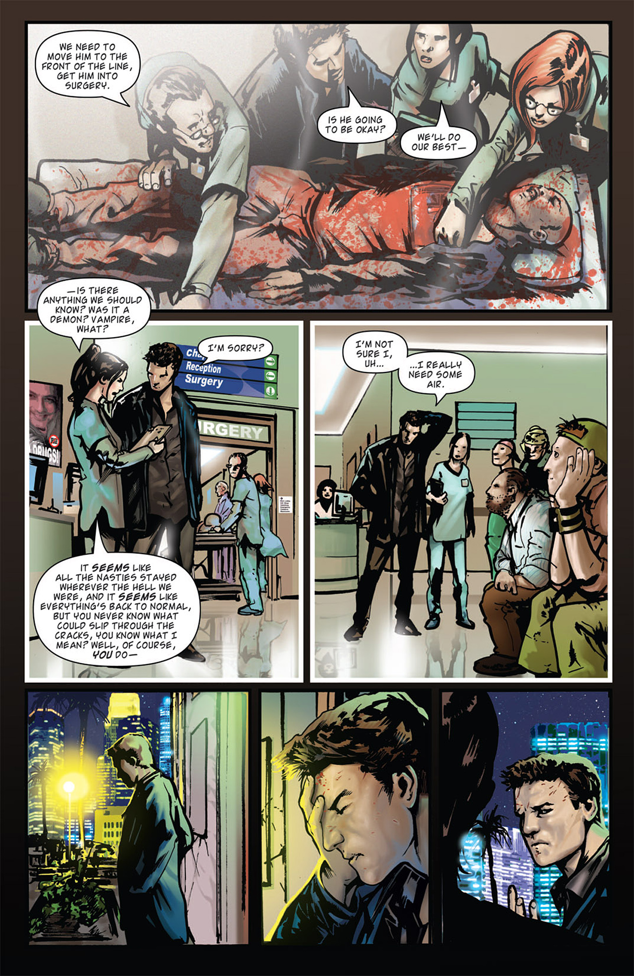 Read online Angel: After The Fall comic -  Issue #16 - 23