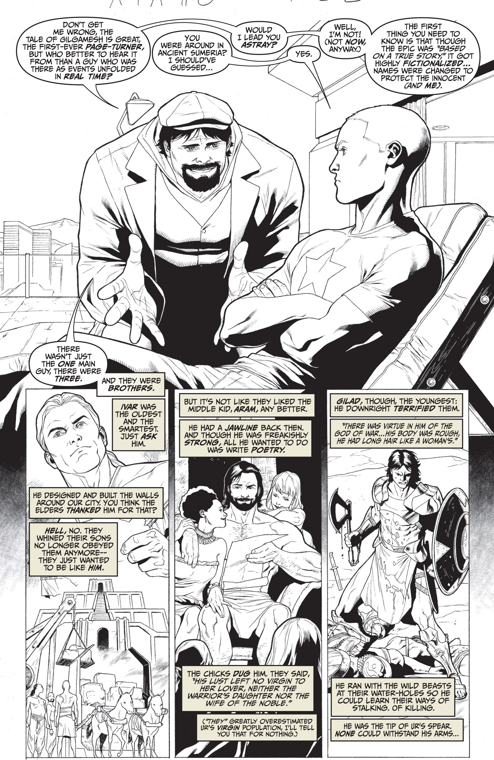 Read online Archer and Armstrong comic -  Issue #Archer and Armstrong _TPB 7 - 79