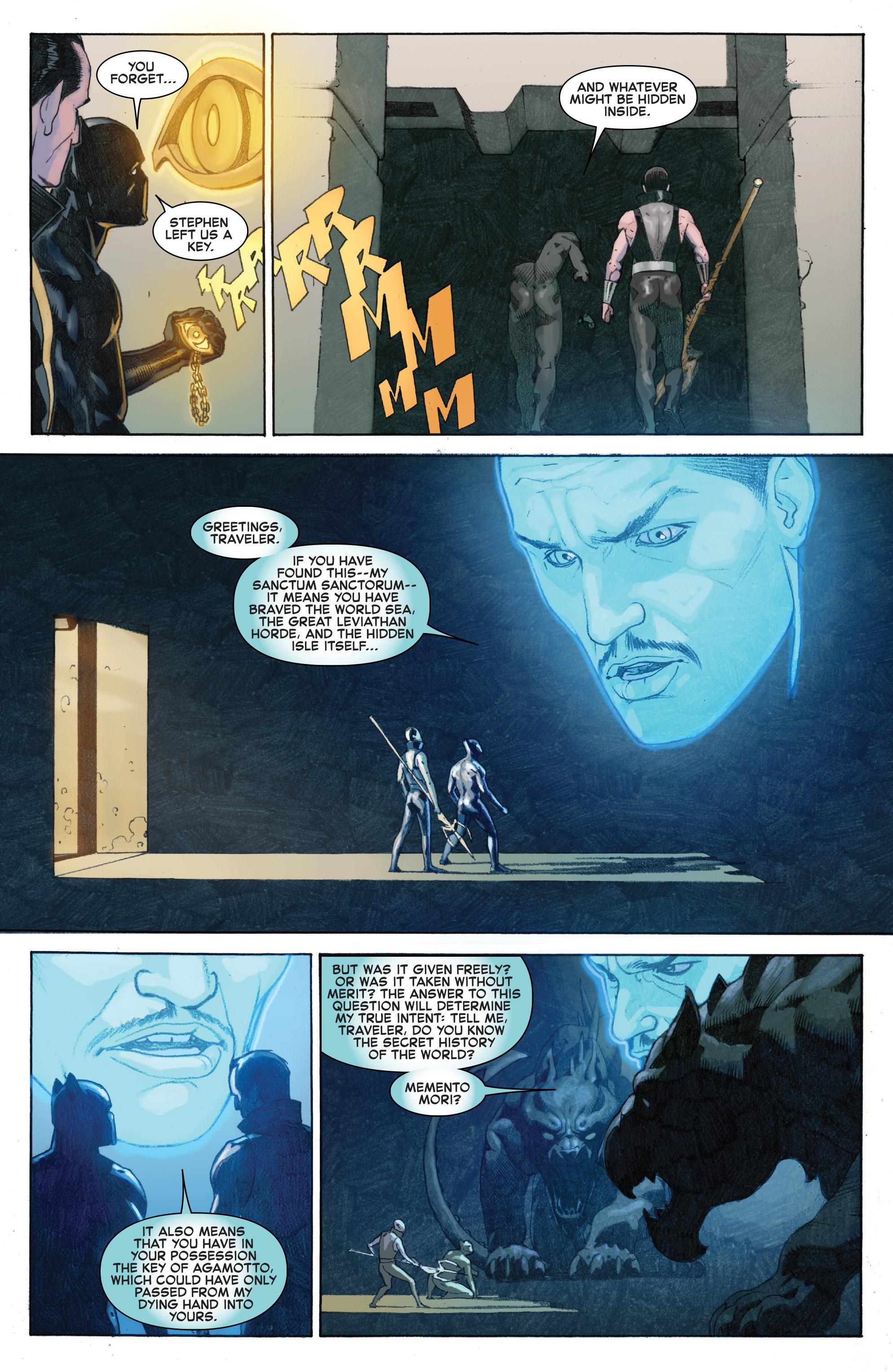 Read online Secret Wars comic -  Issue #6 - 21