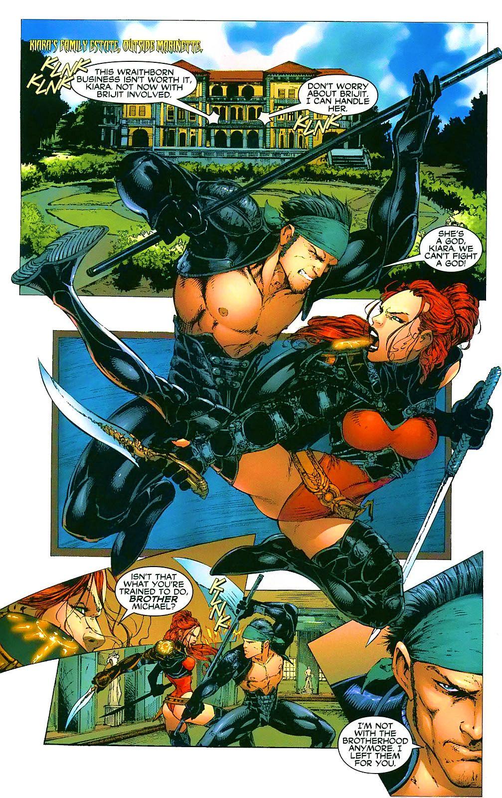 Read online Wraithborn comic -  Issue #4 - 12