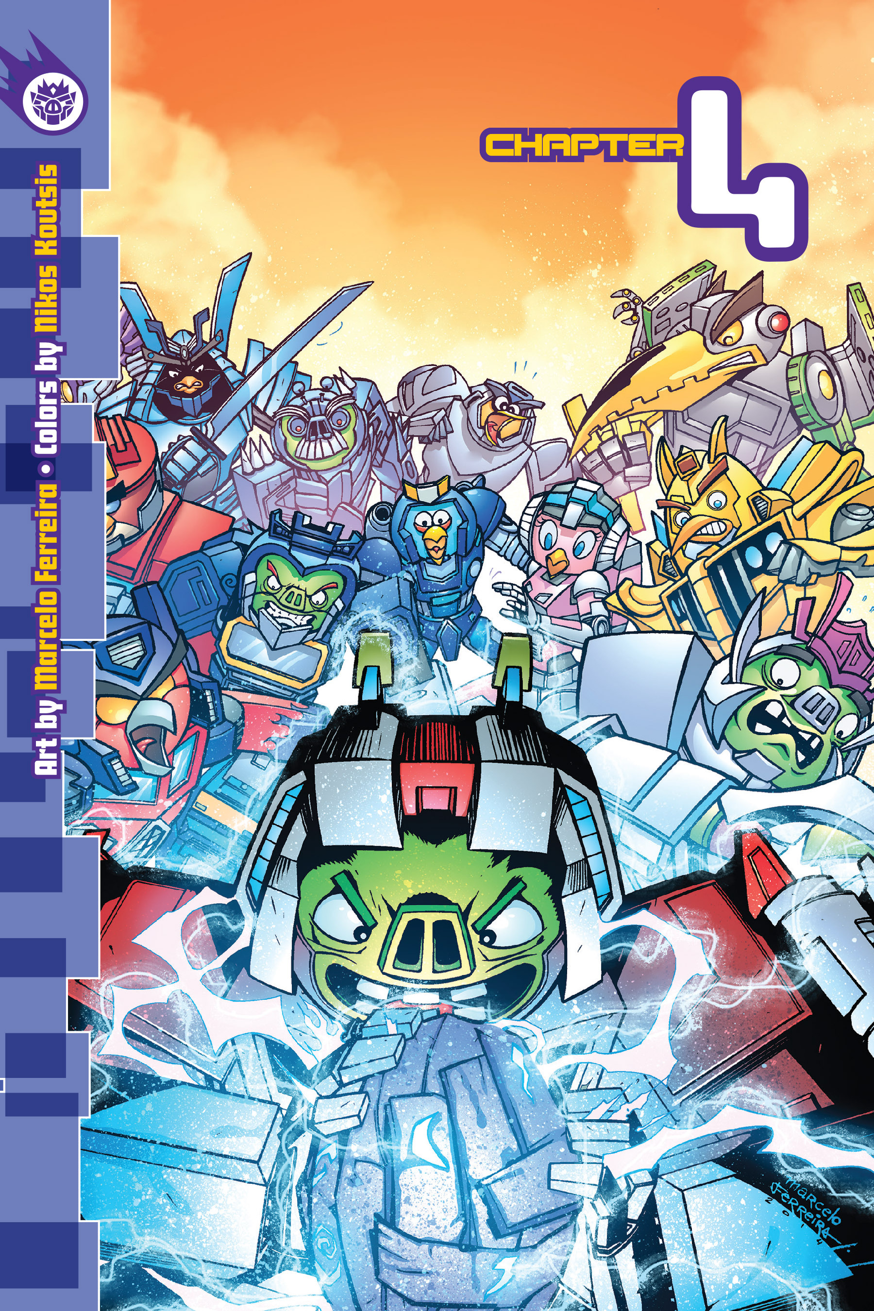 Read online Angry Birds Transformers: Age of Eggstinction comic -  Issue # Full - 70