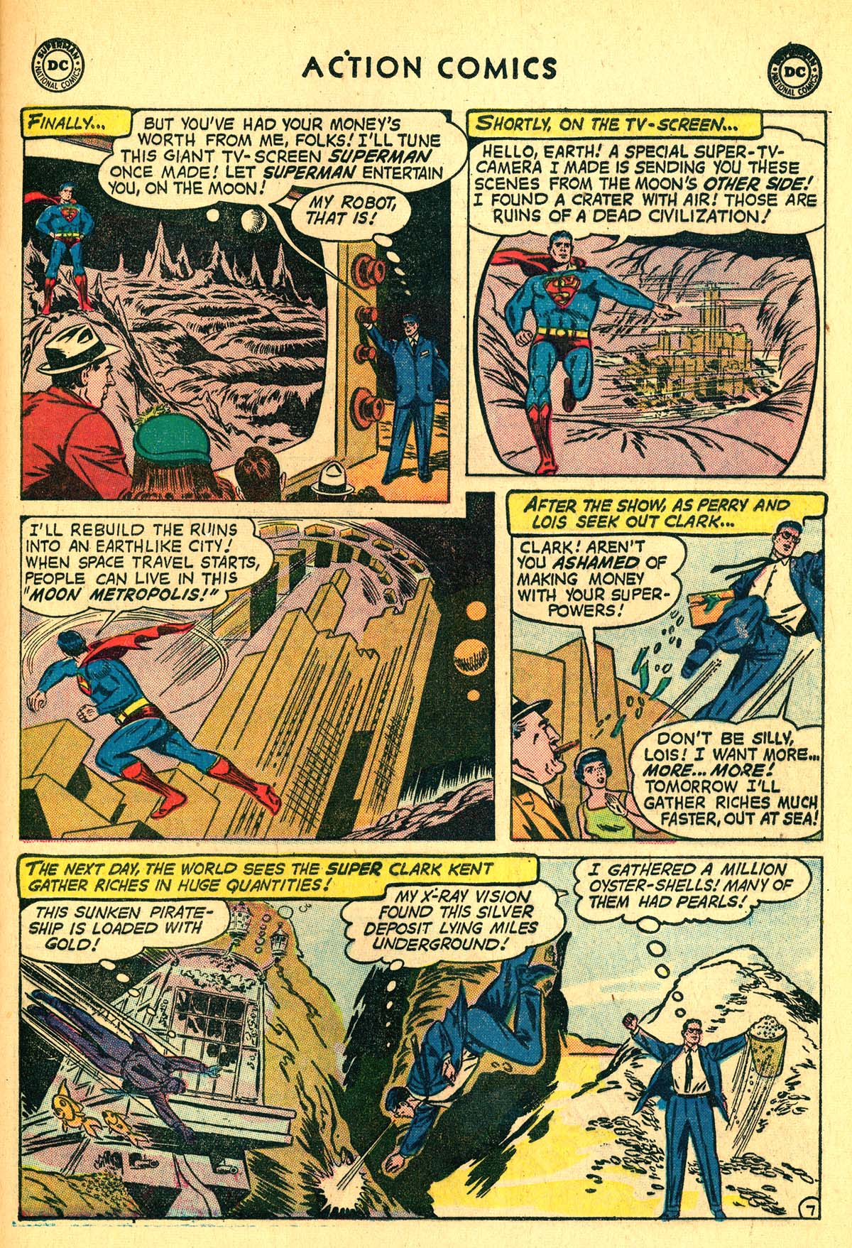 Read online Action Comics (1938) comic -  Issue #257 - 9