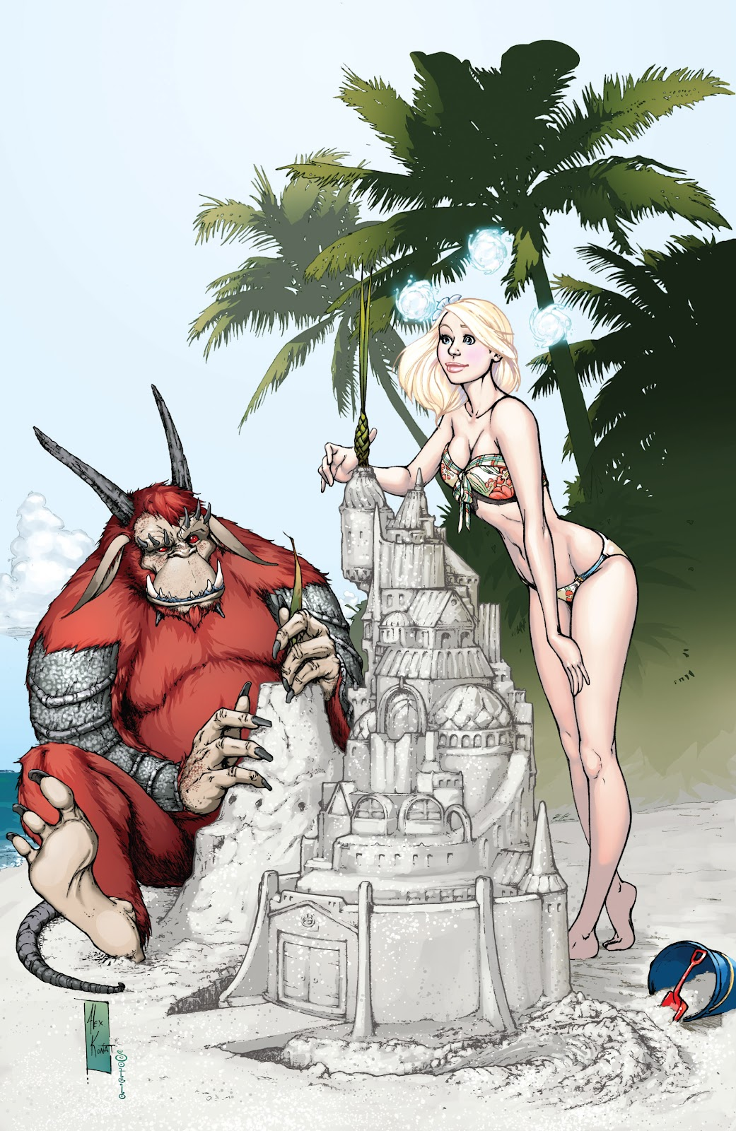Read online Aspen Splash: Swimsuit Spectacular comic -  Issue # Issue 2009 - 22