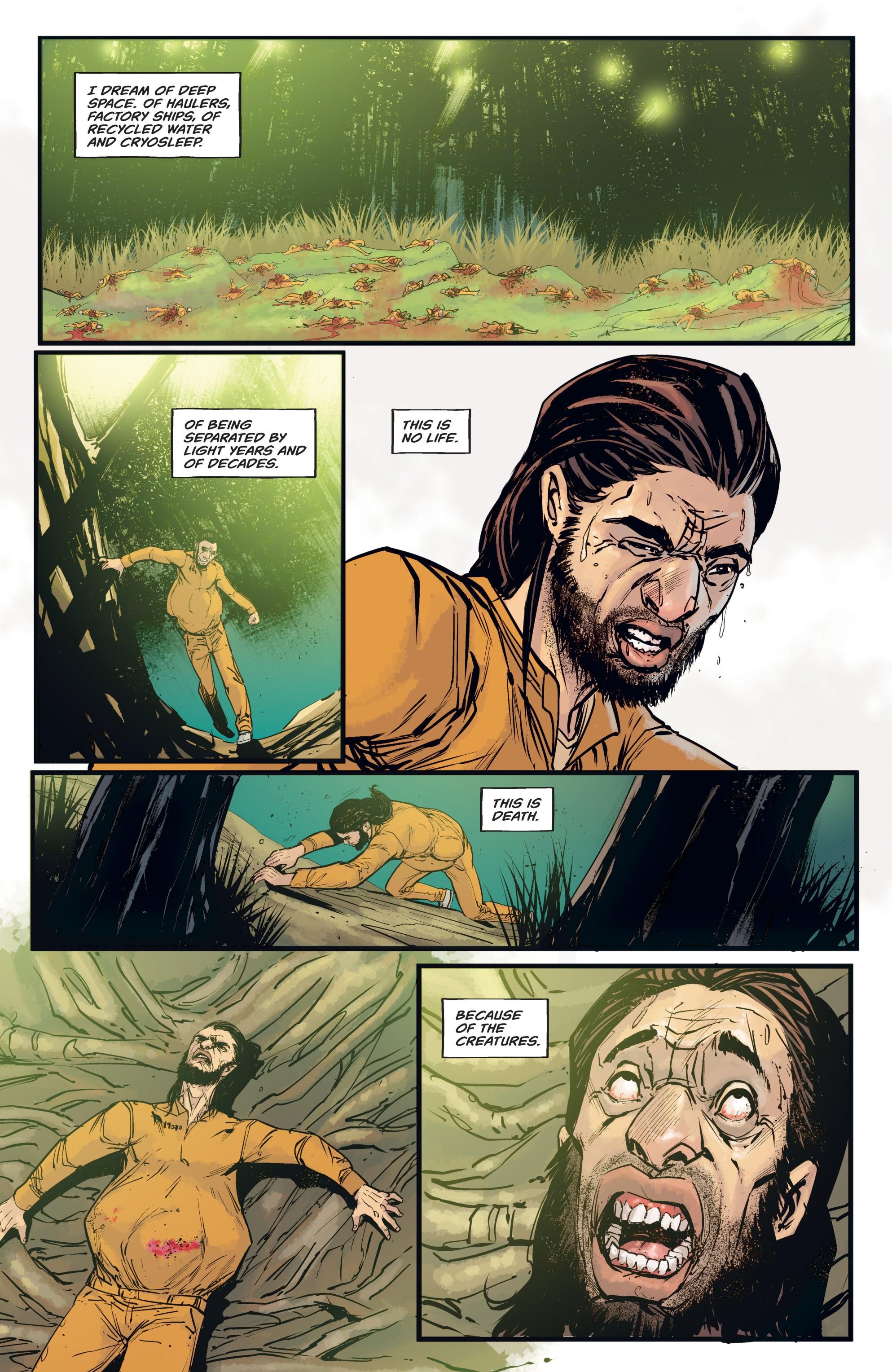 Read online Aliens: Resistance comic -  Issue # _TPB - 74