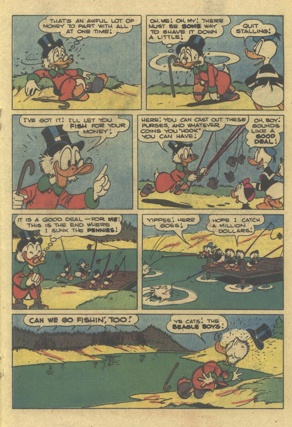 Read online Uncle Scrooge (1953) comic -  Issue #195 - 19